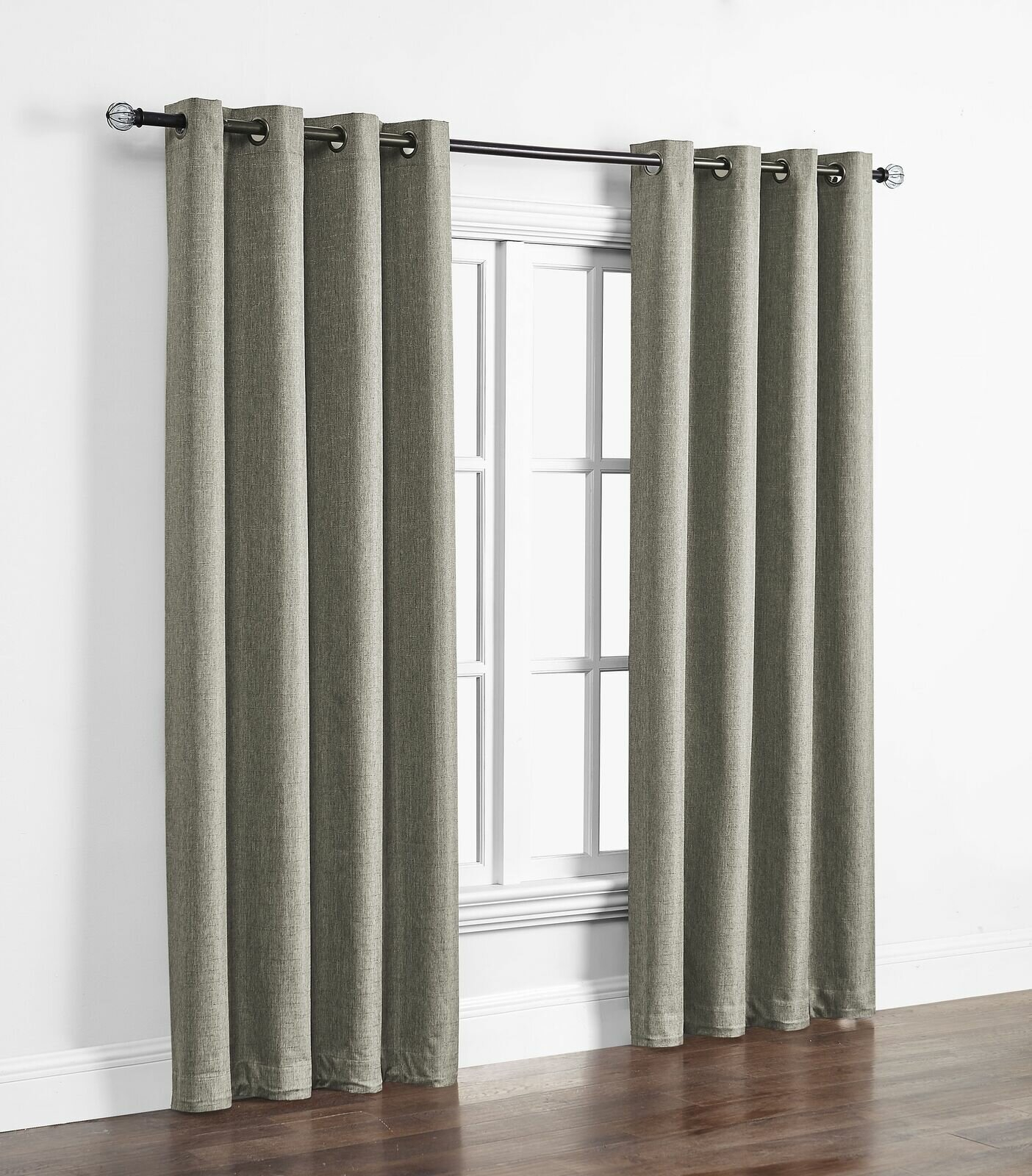 Kali Solid Indoor/outdoor Polyester Max Blackout Thermal Single Curtain Panel In Davis Patio Grommet Top Single Curtain Panels (View 9 of 20)
