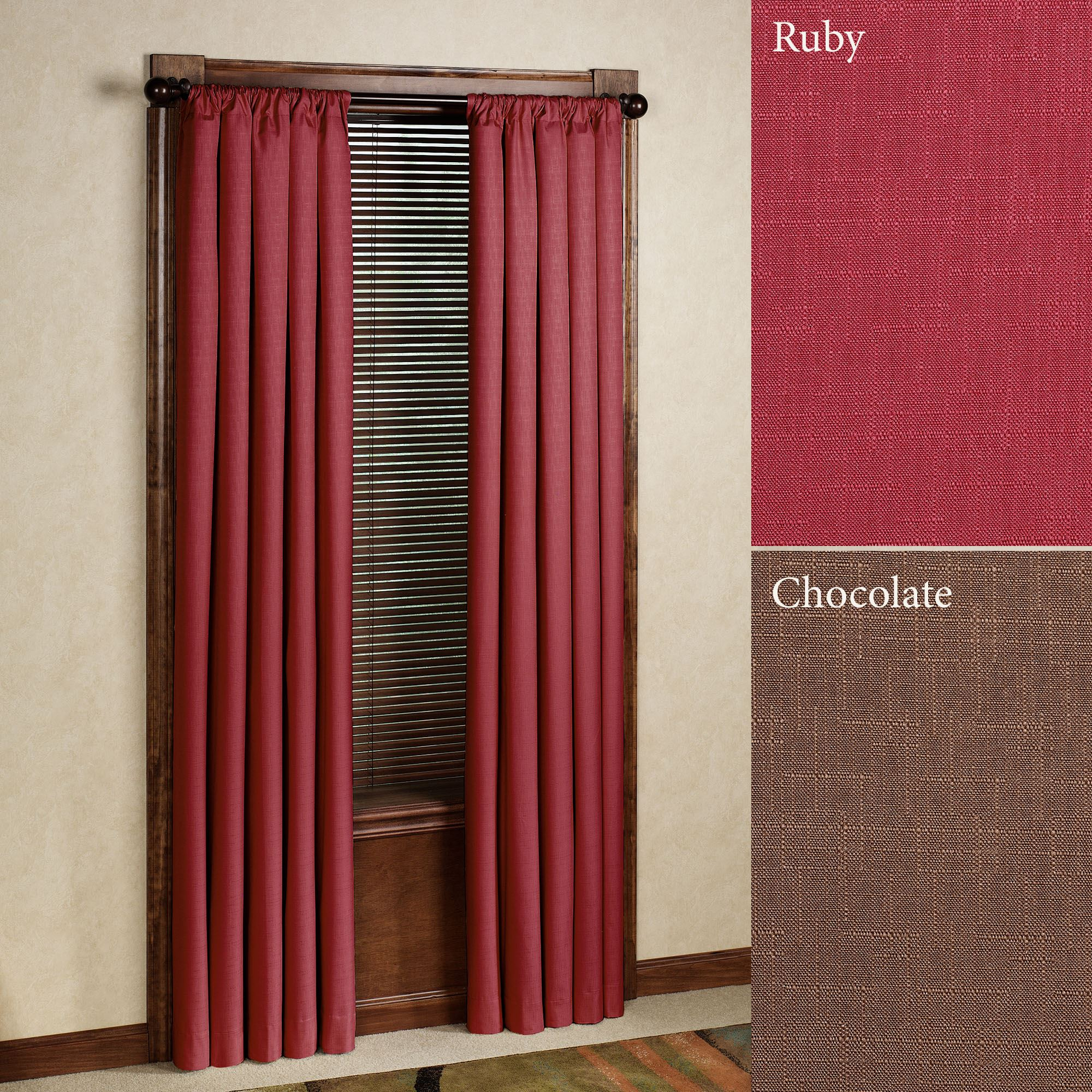 Kendall Thermaback(tm) Blackout Curtain Panel Throughout Thermaback Blackout Window Curtains (View 20 of 30)