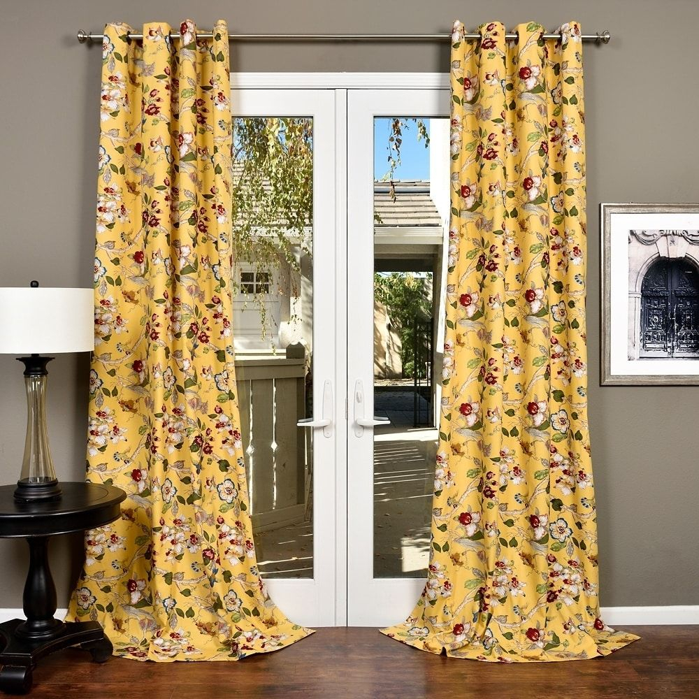Lambrequin Ella Cotton Curtain Panel (white) In 2019 Inside Ella Window Curtain Panels (View 18 of 20)