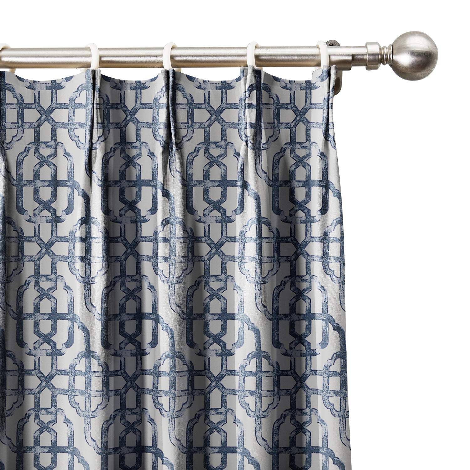 Licious Contemporary Pleated Drapes Design Style Box Pleat Throughout Solid Cotton Pleated Curtains (View 19 of 30)