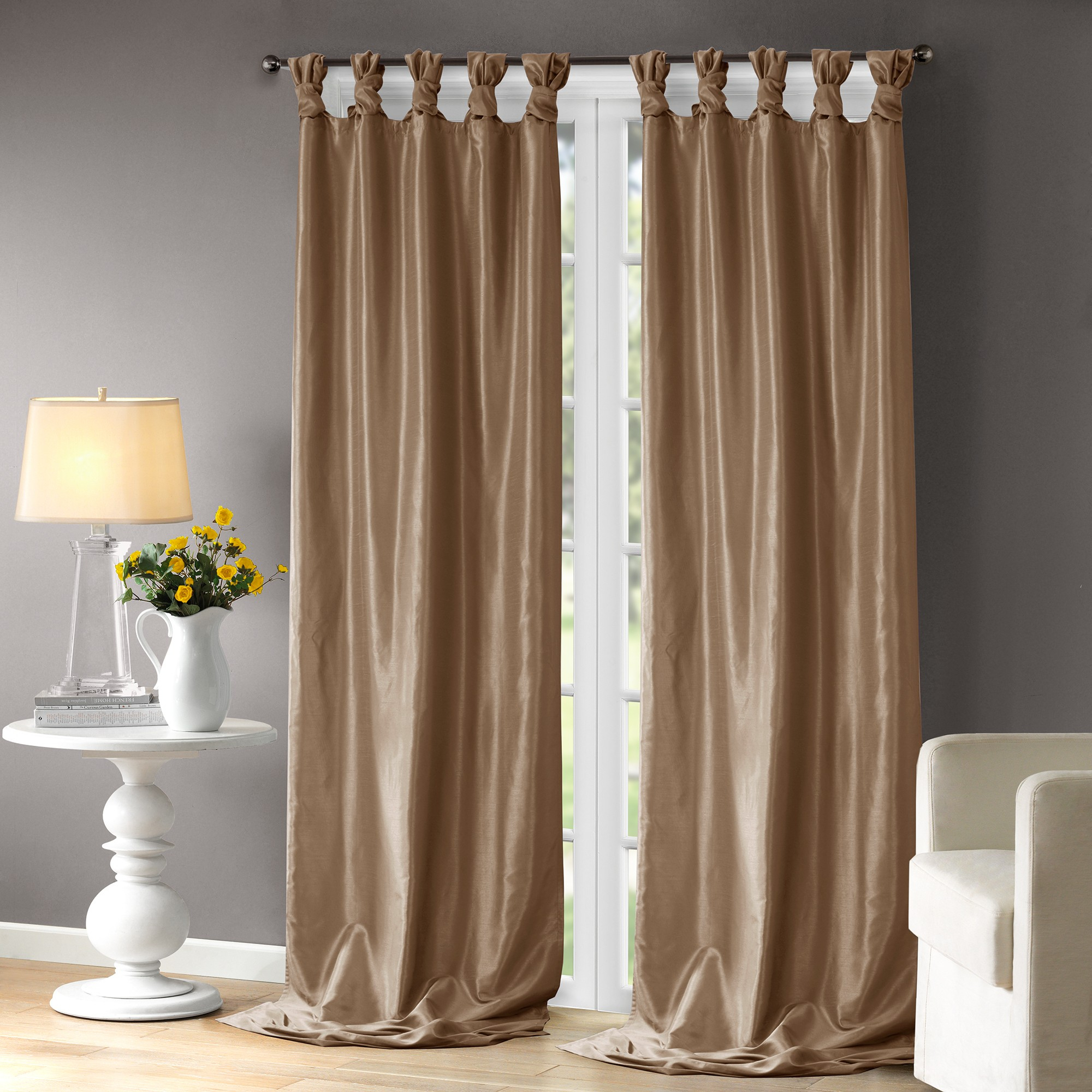 Lillian Window Curtain Bronze 50x120"