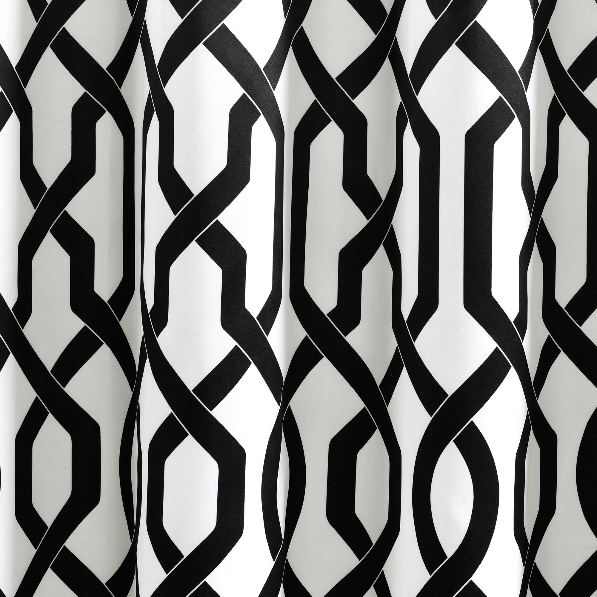 Lush Decor Edward Moroccan Pattern Room Darkening Curtain Panel Pair Intended For Edward Moroccan Pattern Room Darkening Curtain Panel Pairs (View 14 of 20)