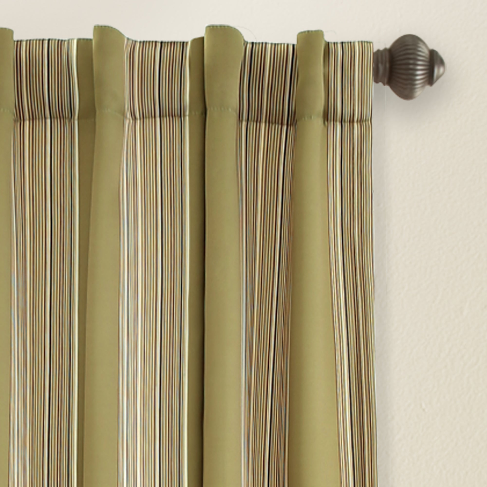 Featured Photo of Julia Striped Room Darkening Window Curtain Panel Pairs