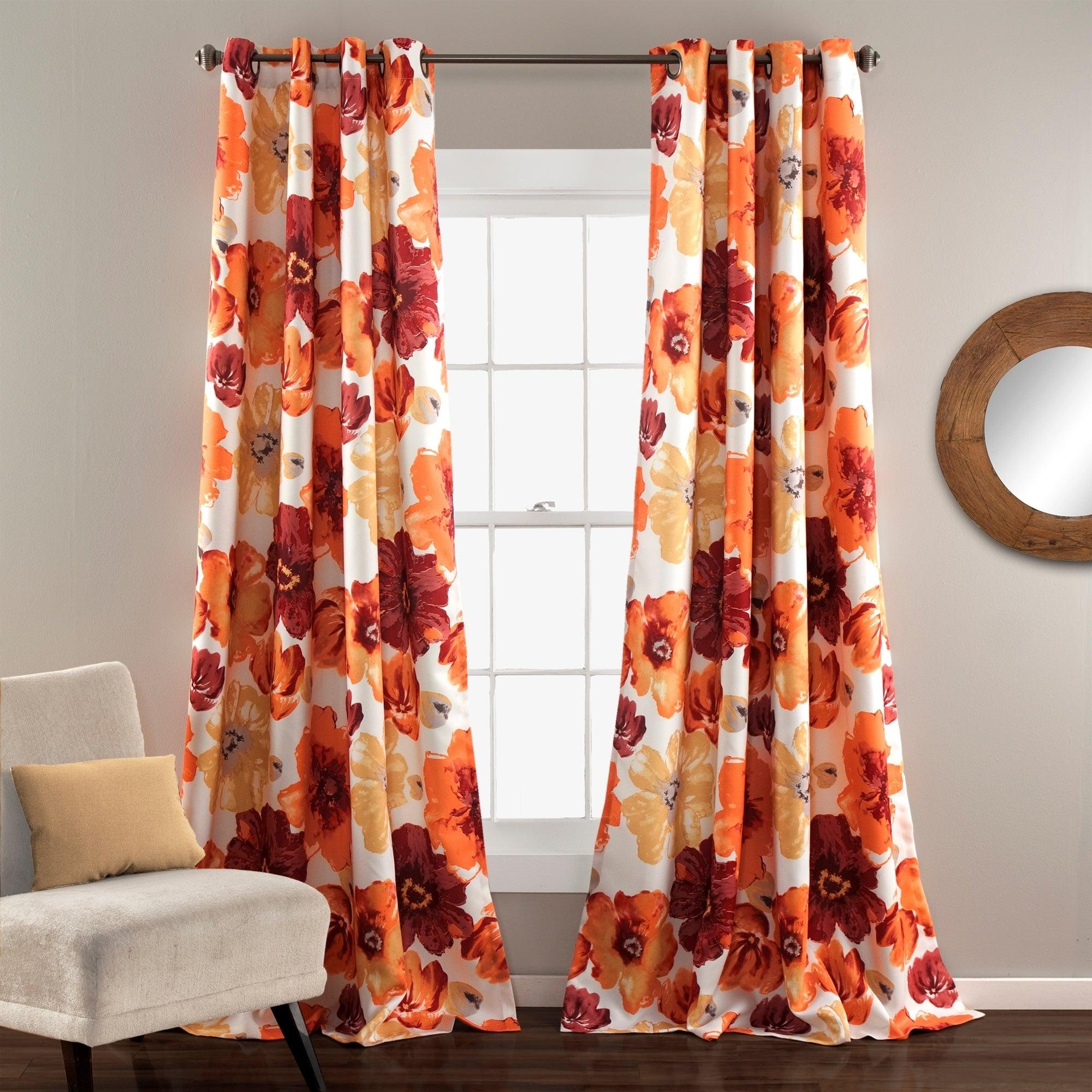Lush Decor Leah Room Darkening Curtain Panel Pair For Leah Room Darkening Curtain Panel Pairs (View 6 of 20)