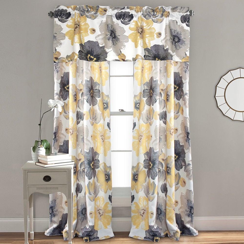 Lush Decor Leah Room Darkening Curtain Panel Pair Intended For Leah Room Darkening Curtain Panel Pairs (View 3 of 20)