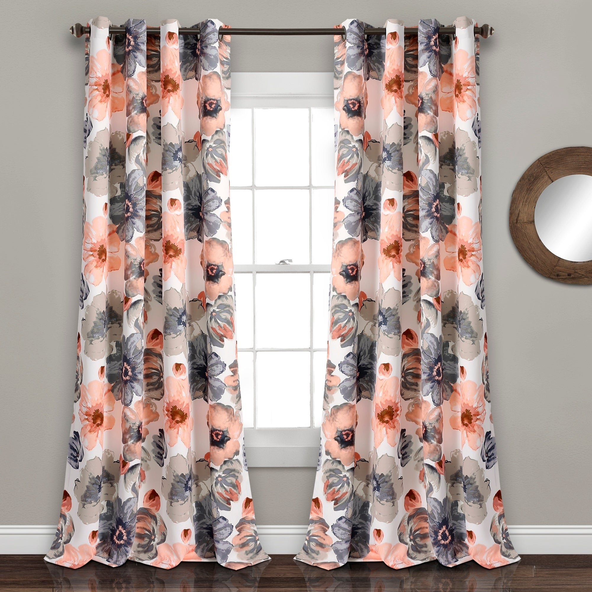 Featured Photo of Leah Room Darkening Curtain Panel Pairs