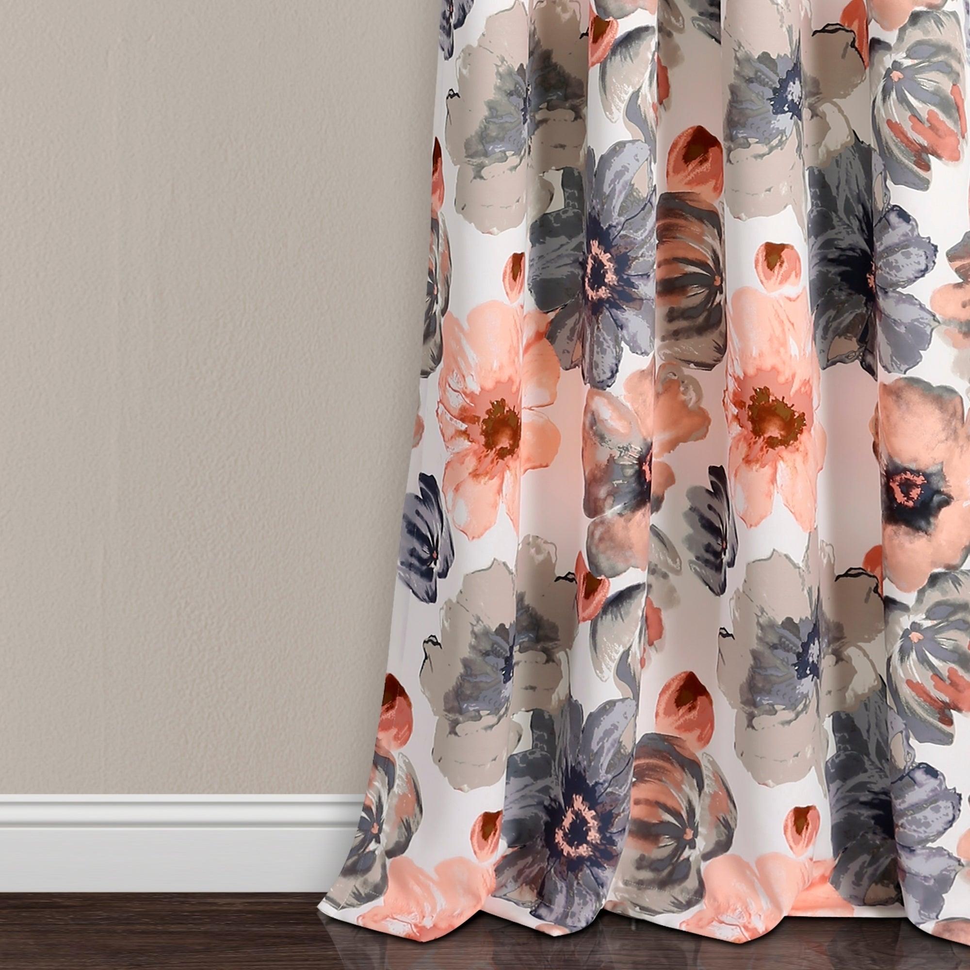Lush Decor Leah Room Darkening Curtain Panel Pair Within Leah Room Darkening Curtain Panel Pairs (View 16 of 20)