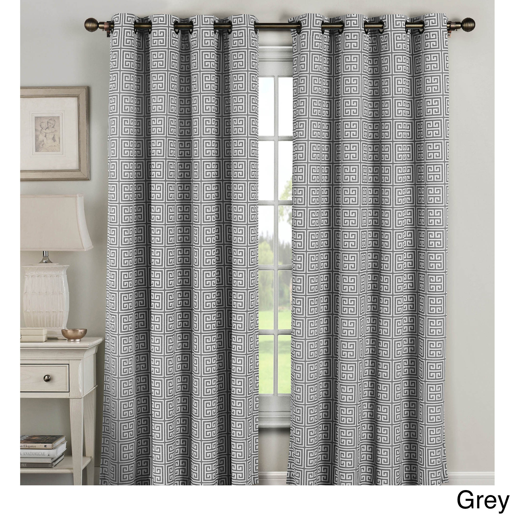 Luxury 96 Inch Grommet Curtain Panels – Zachary Kristen Regarding Sugar Creek Grommet Top Loha Linen Window Curtain Panel Pairs (View 15 of 30)
