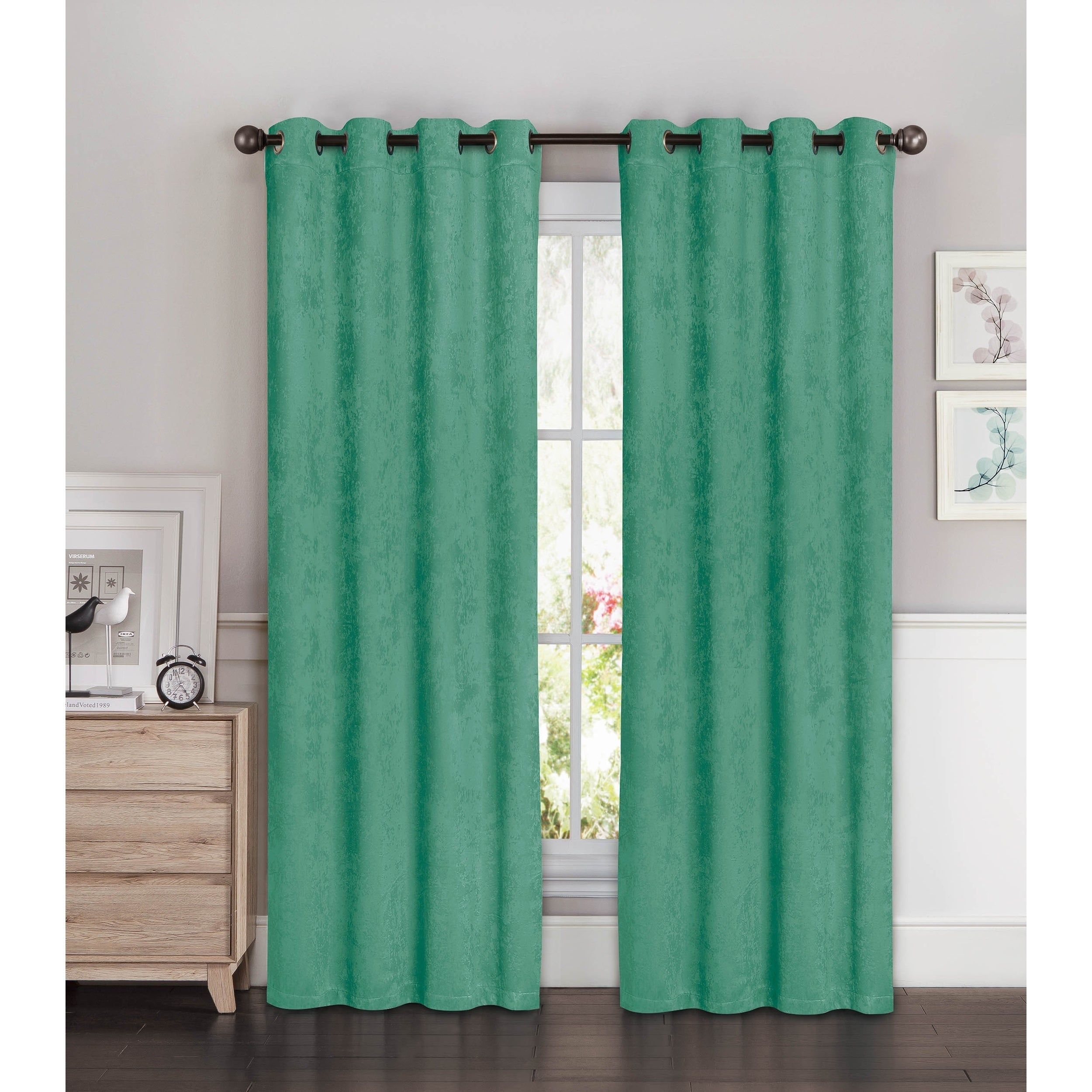 Luxury 96 Inch Grommet Curtain Panels – Zachary Kristen With Sugar Creek Grommet Top Loha Linen Window Curtain Panel Pairs (View 20 of 30)