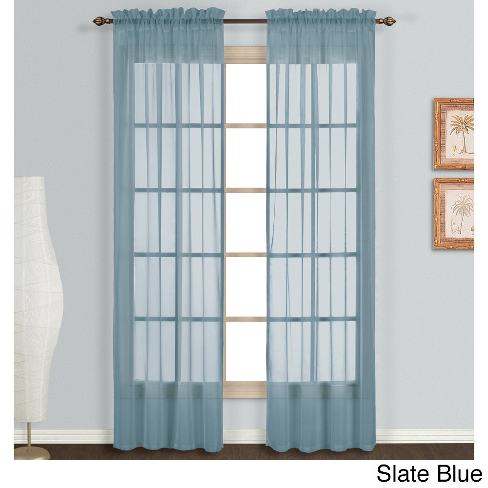 Luxury Collection Monte Carlo Sheer Curtain Panel Pair Regarding Luxury Collection Monte Carlo Sheer Curtain Panel Pairs (View 2 of 20)