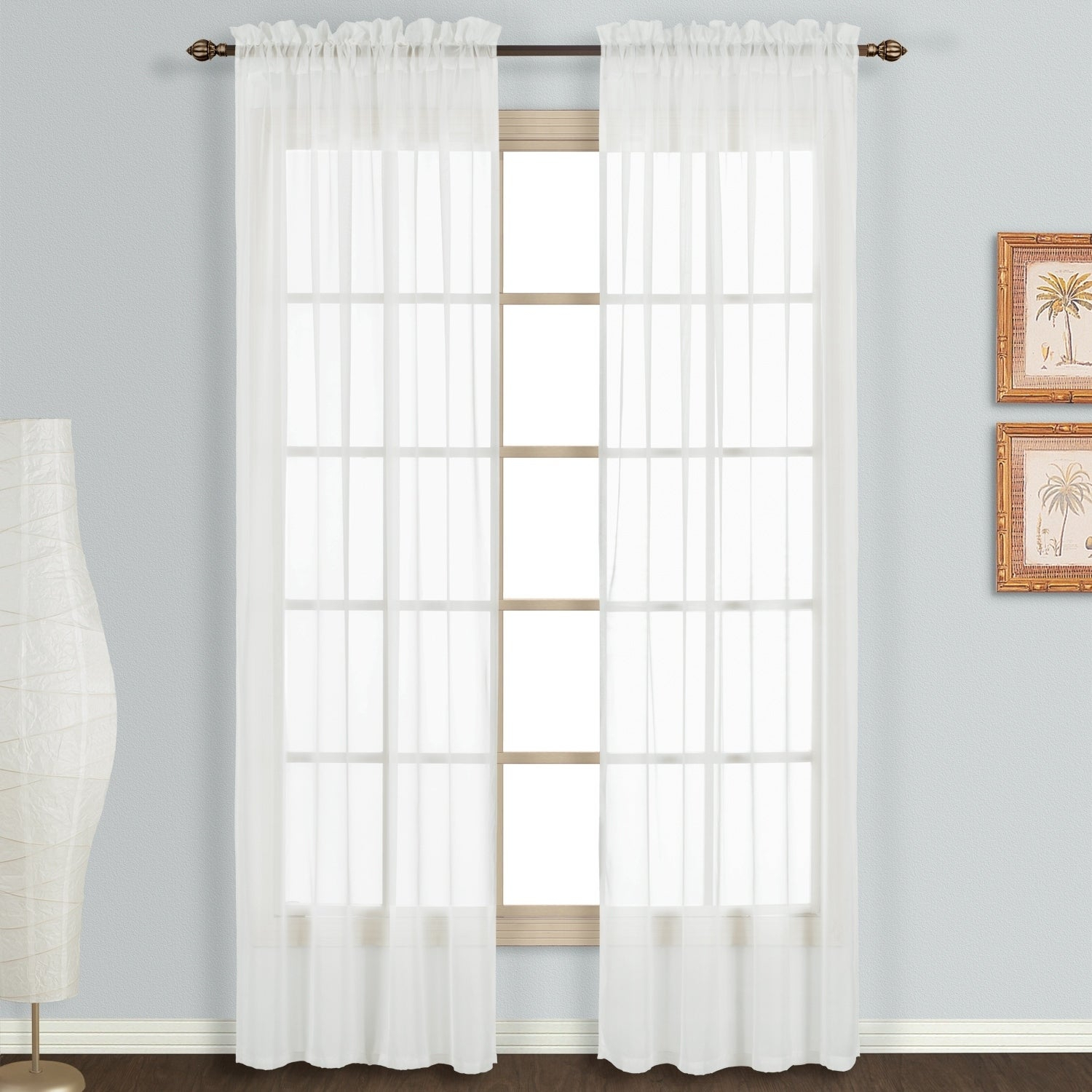 Luxury Collection Monte Carlo Window Panel Pair In Luxury Collection Summit Sheer Curtain Panel Pairs (View 4 of 20)