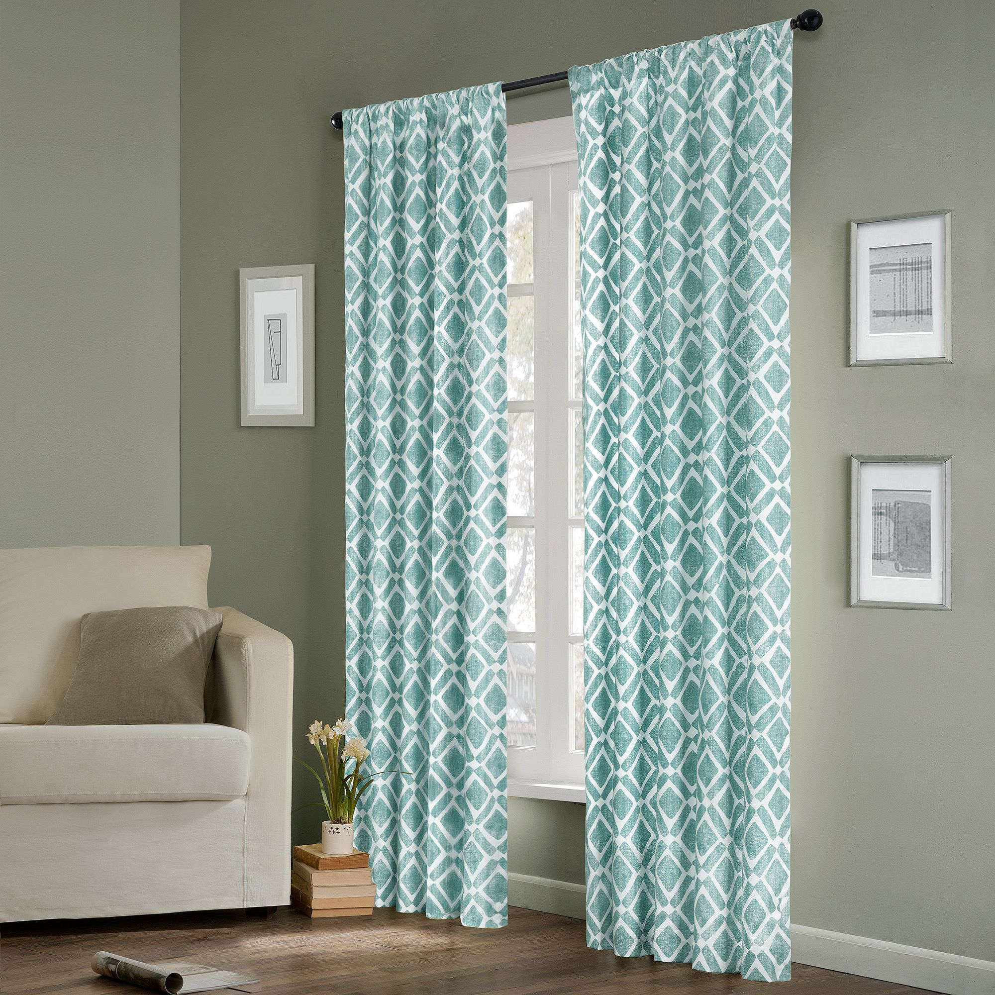 Madison Park 1 Panel Ella Window Curtain In 2019 | Products Regarding Ella Window Curtain Panels (View 5 of 20)