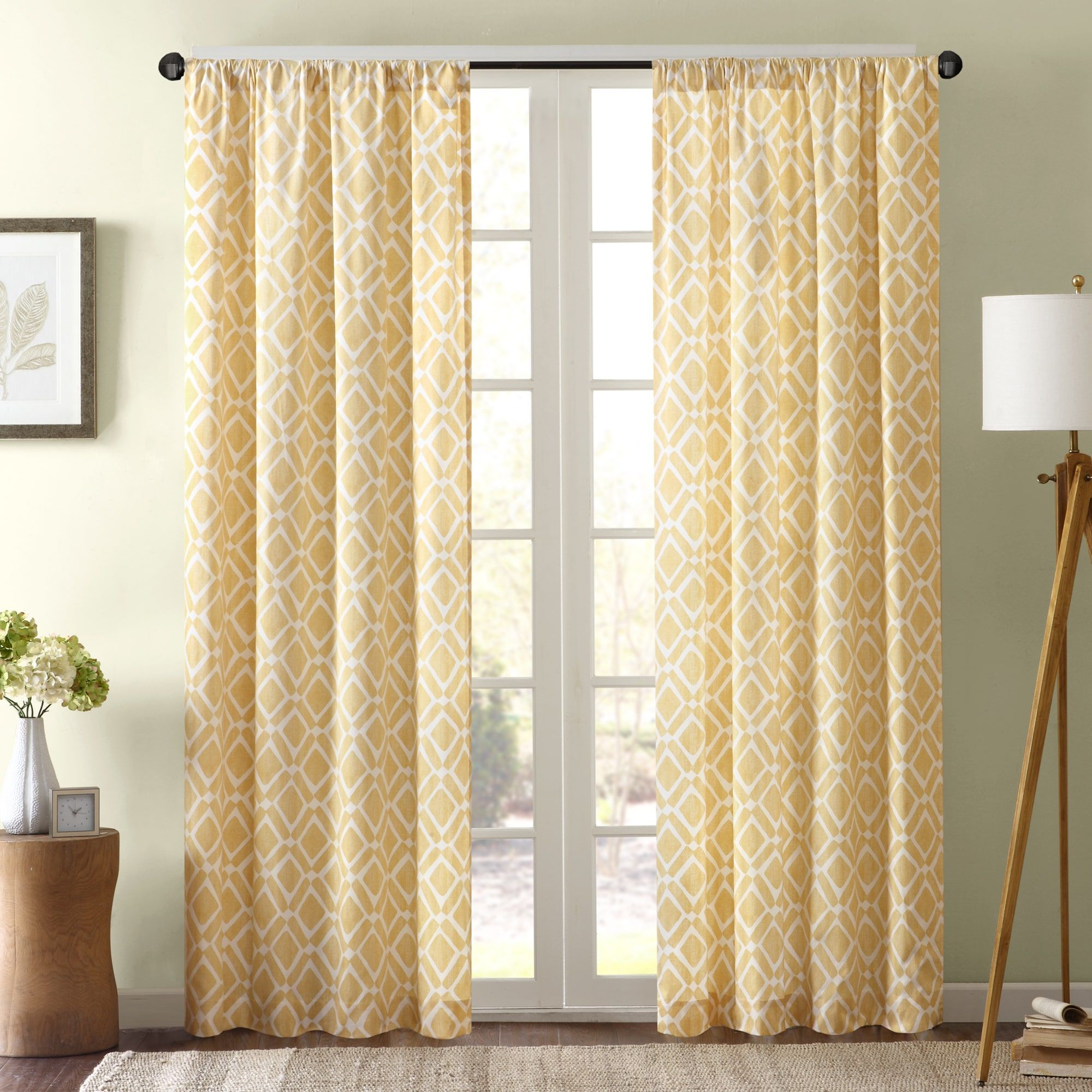 Madison Park Ella Curtain Panel | Overstock Shopping Pertaining To Ella Window Curtain Panels (View 11 of 20)
