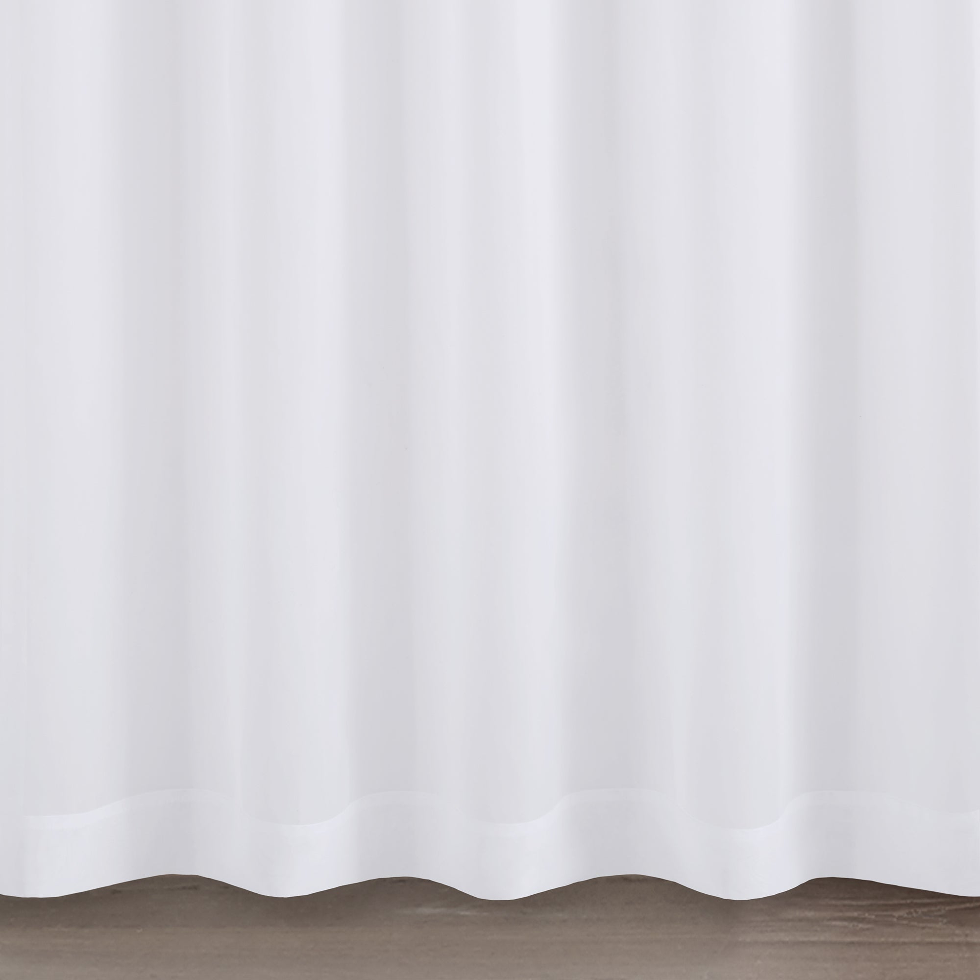 "Madison Park Elowen Twisted Tab Voile Sheer Curtain Panel Pair 63"" In White (as Is Item) Intended For Elowen White Twist Tab Voile Sheer Curtain Panel Pairs (View 18 of 20)"