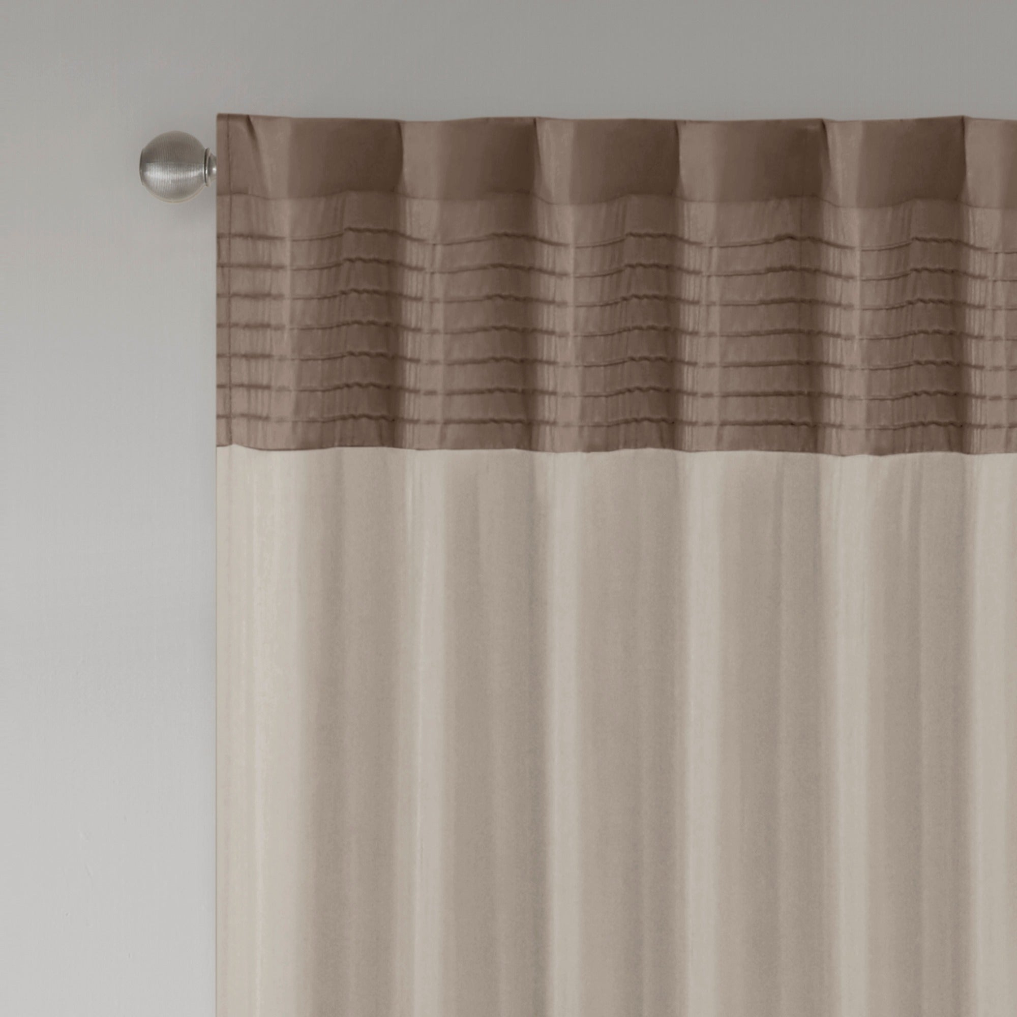 Madison Park Tradewinds Polyoni Pintuck Single Curtain Panel – 50 X 84 In Chester Polyoni Pintuck Curtain Panels (View 11 of 20)