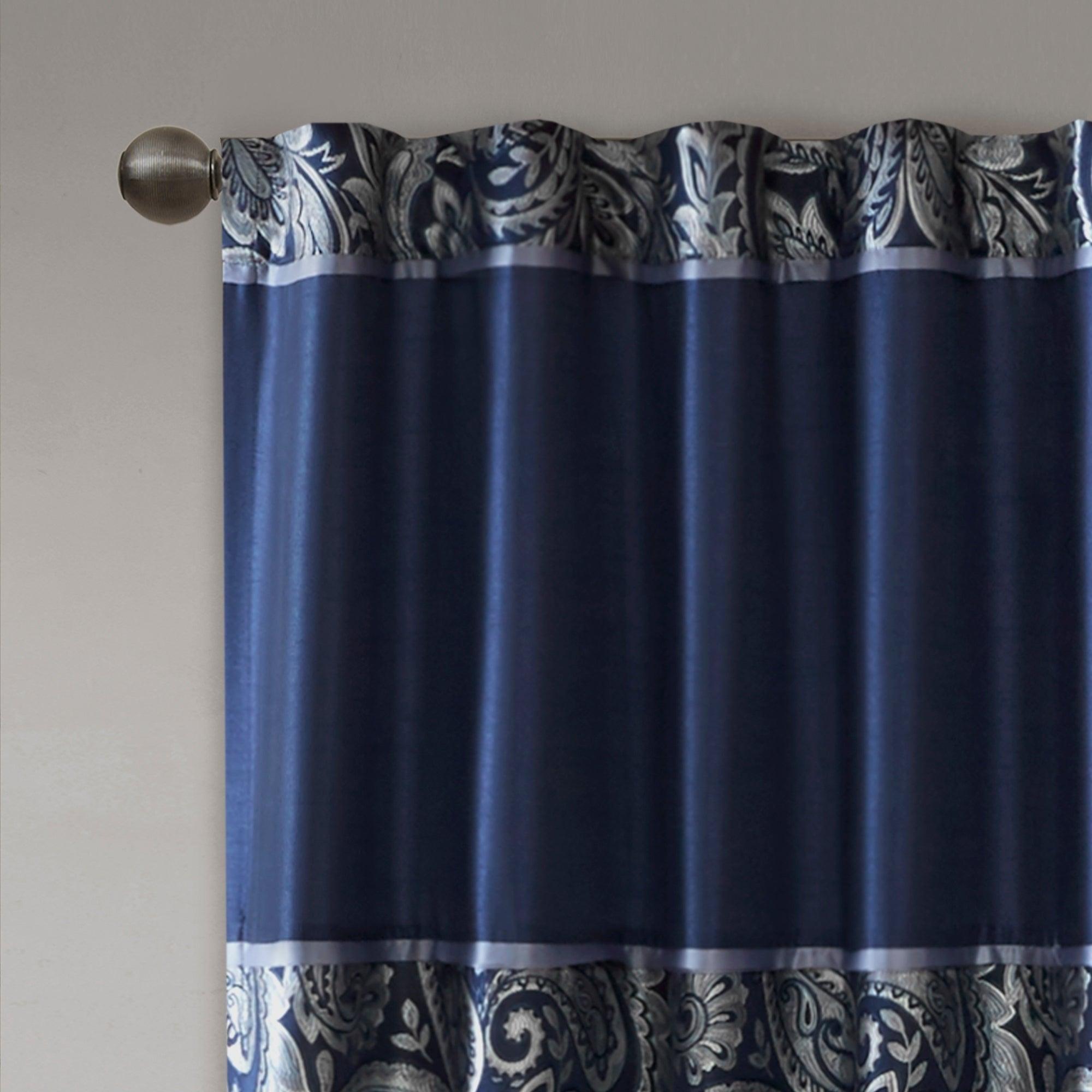 Madison Park Whitman Curtain Panel Pair Regarding Whitman Curtain Panel Pairs (View 5 of 30)