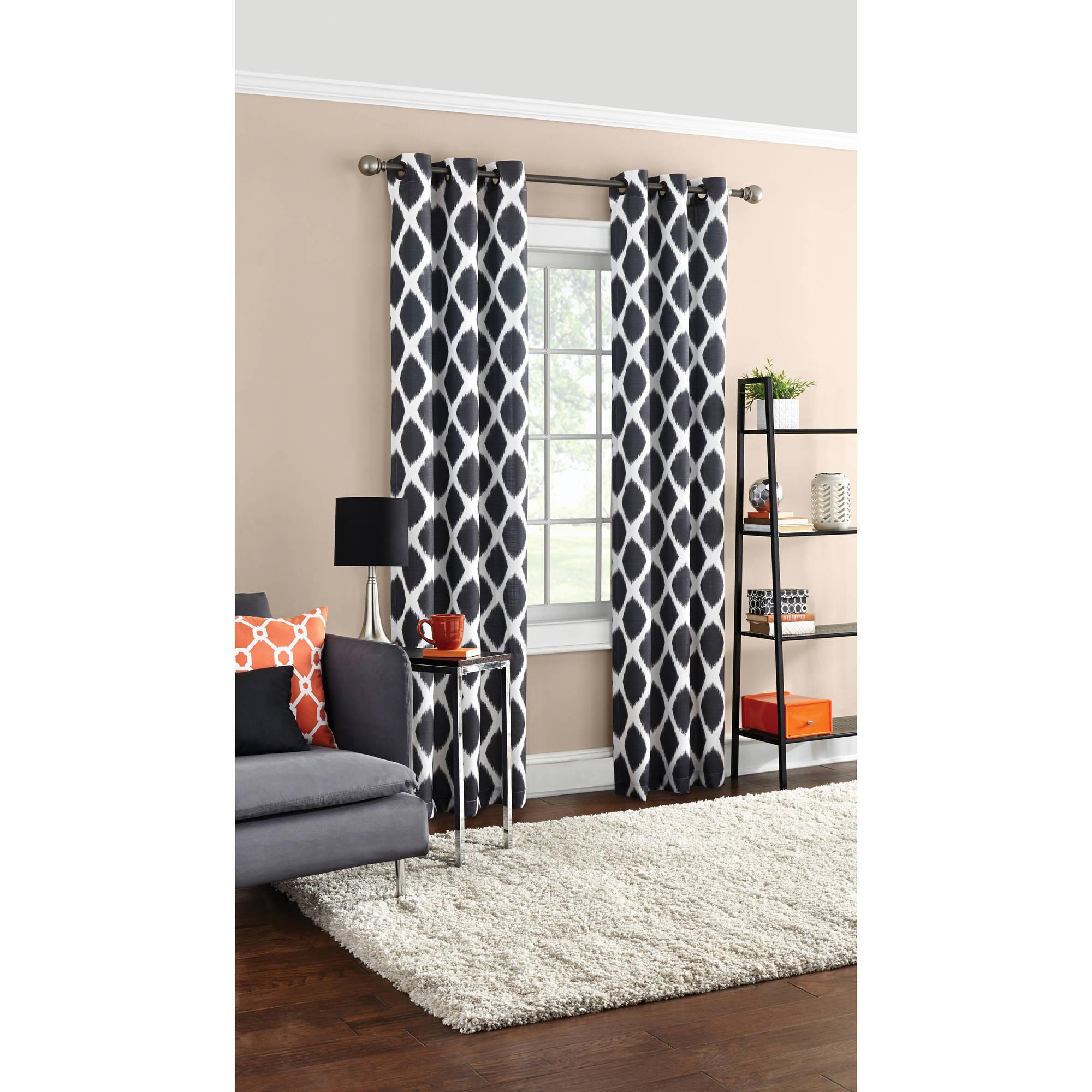 Mainstays Textured Grommet Curtain Panel pertaining to Grommet Curtain Panels (Image 13 of 20)