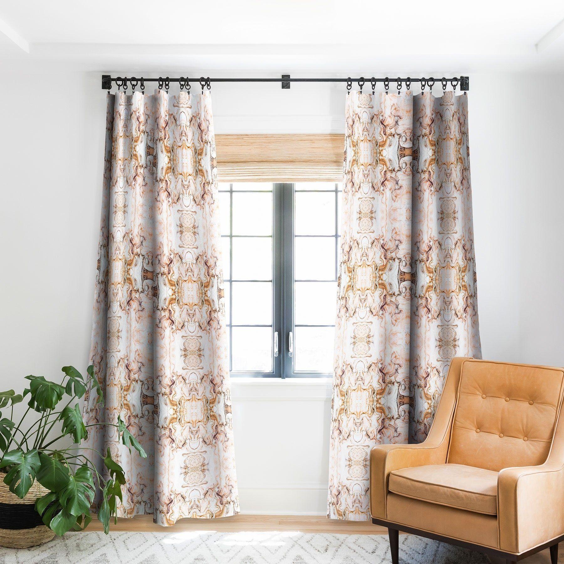 Marta Barragan Camarasa Abstract Pink Marble Mosaic Blackout For Abstract Blackout Curtain Panel Pairs (Image 18 of 22)