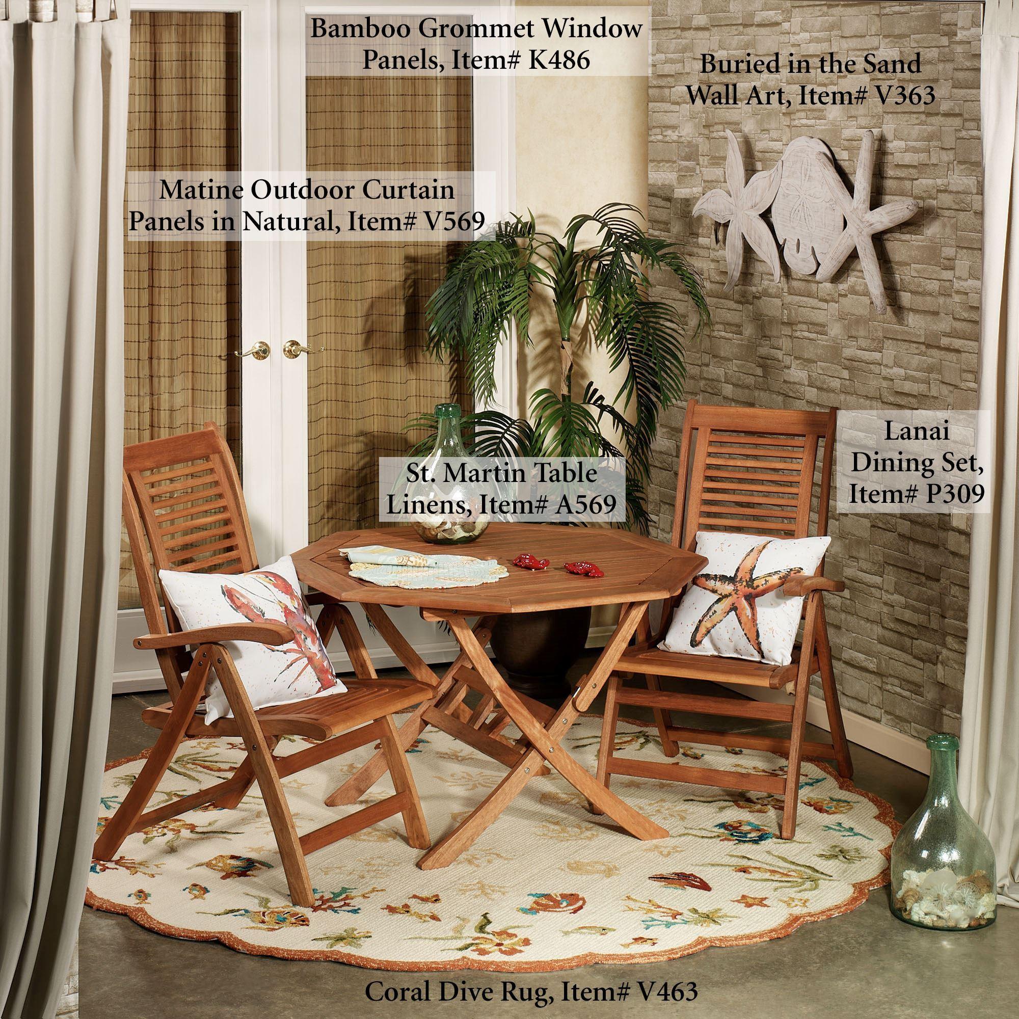 Matine Indoor Outdoor Tab Top Curtain Panels For Matine Indoor/outdoor Curtain Panels (View 13 of 20)