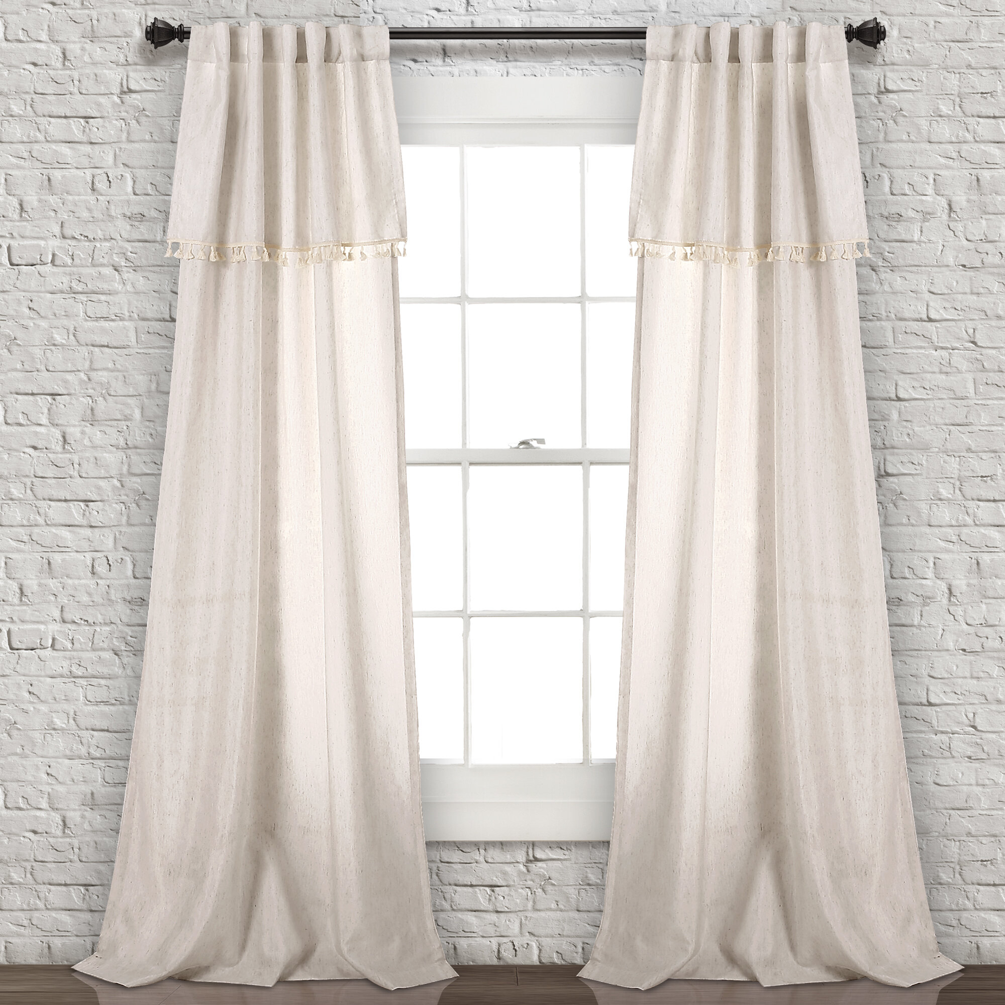 Maxwell Solid Semi Sheer Rod Pocket Curtain Panels With Rod Pocket Curtain Panels (View 10 of 20)