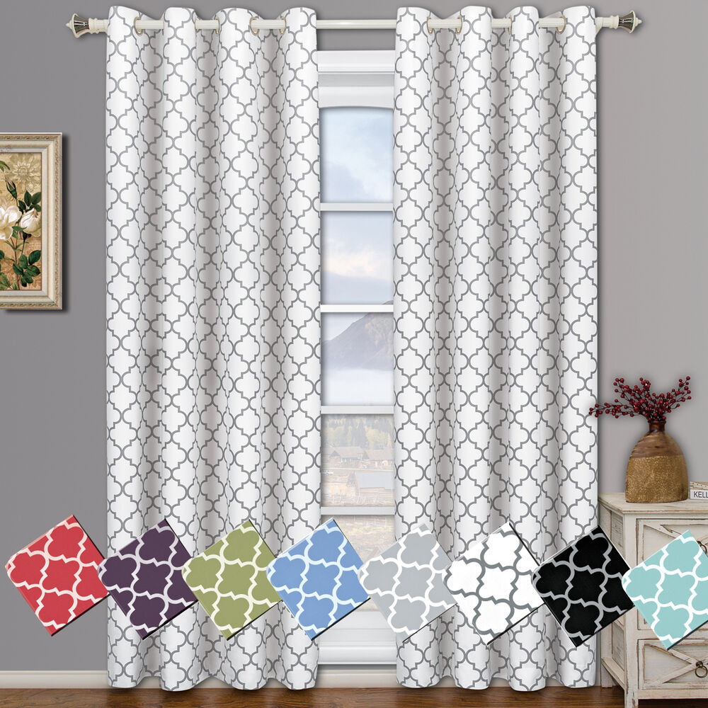 Meridian Grommet Thermal Room Darkening Lined Window Curtain Inside Tuscan Thermal Backed Blackout Curtain Panel Pairs (View 12 of 30)