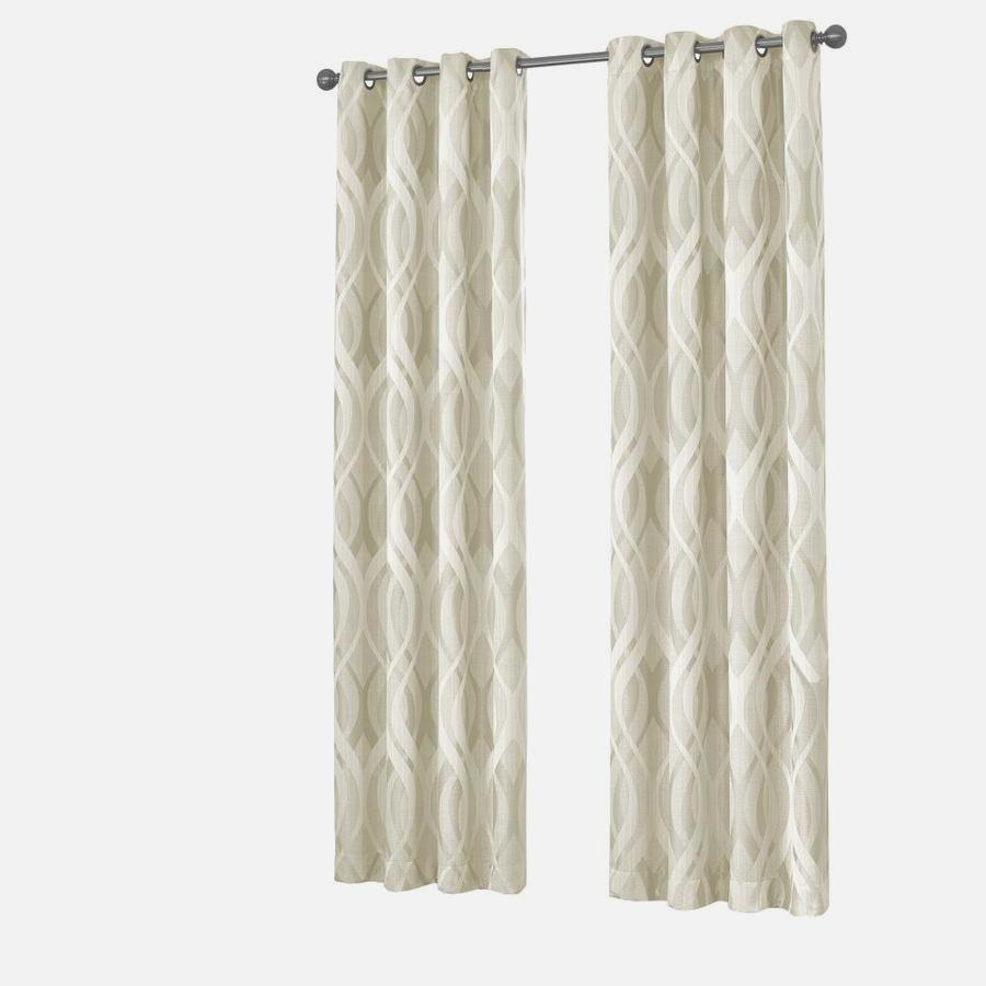 Minimalist Concept Ivory Blackout Curtains – Linxuii (View 23 of 34)
