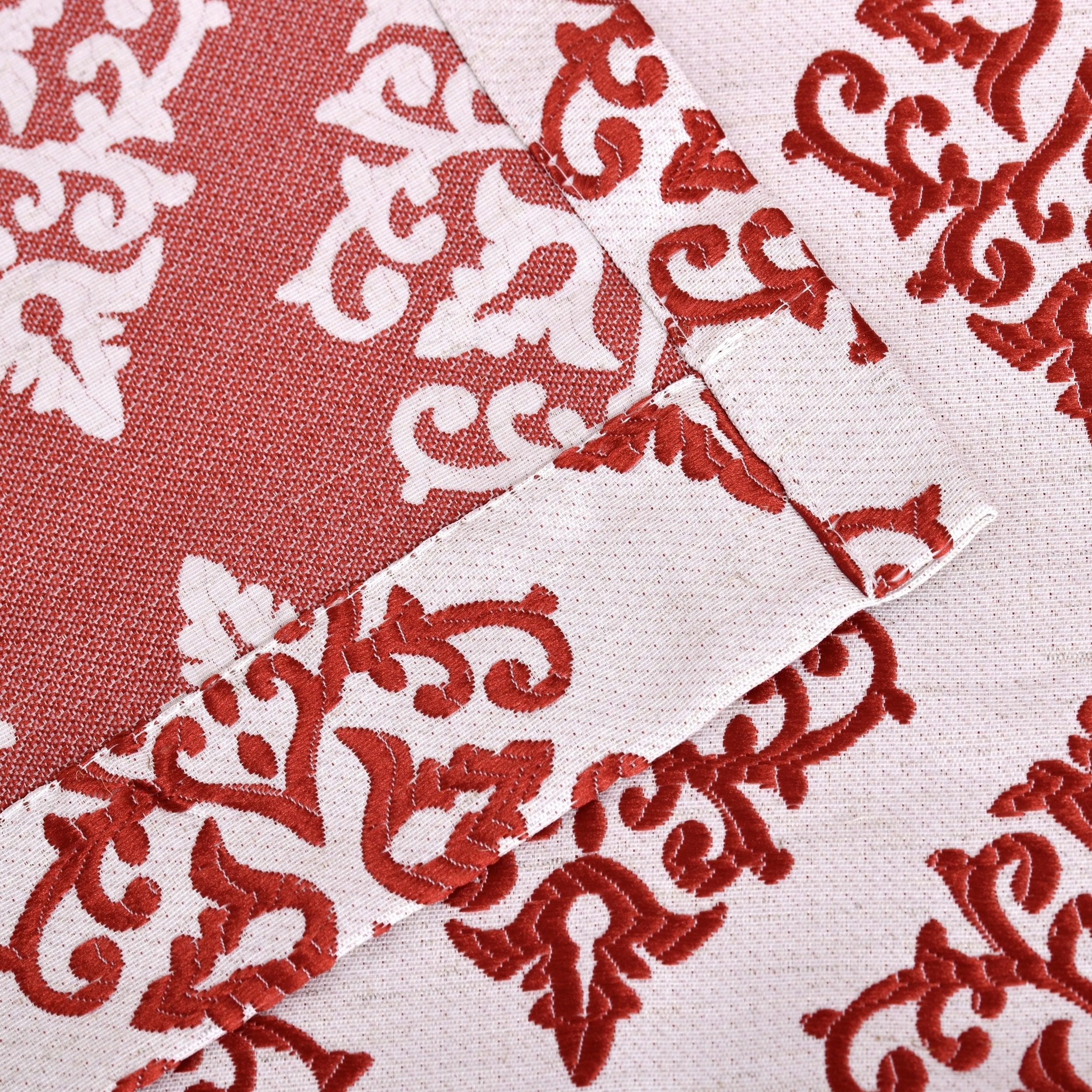 Miranda Haus Labrea Damask Jacquard Grommet Curtain Panel (set Of 2) Throughout Miranda Haus Labrea Damask Jacquard Grommet Curtain Panels (View 11 of 20)