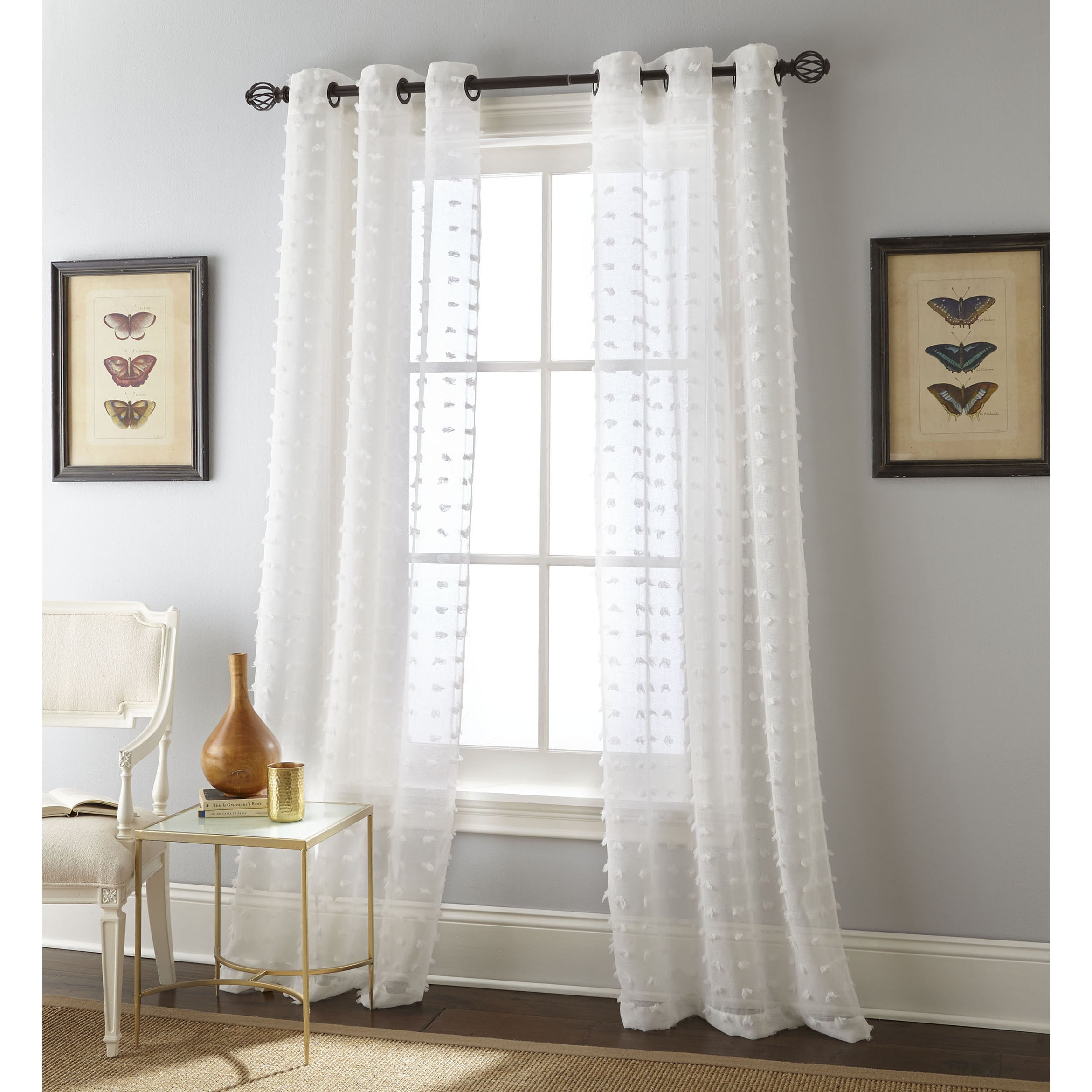 Nanshing Payton Solid Grommet Top Curtain Panel Pair (grey Intended For Solid Grommet Top Curtain Panel Pairs (View 7 of 30)