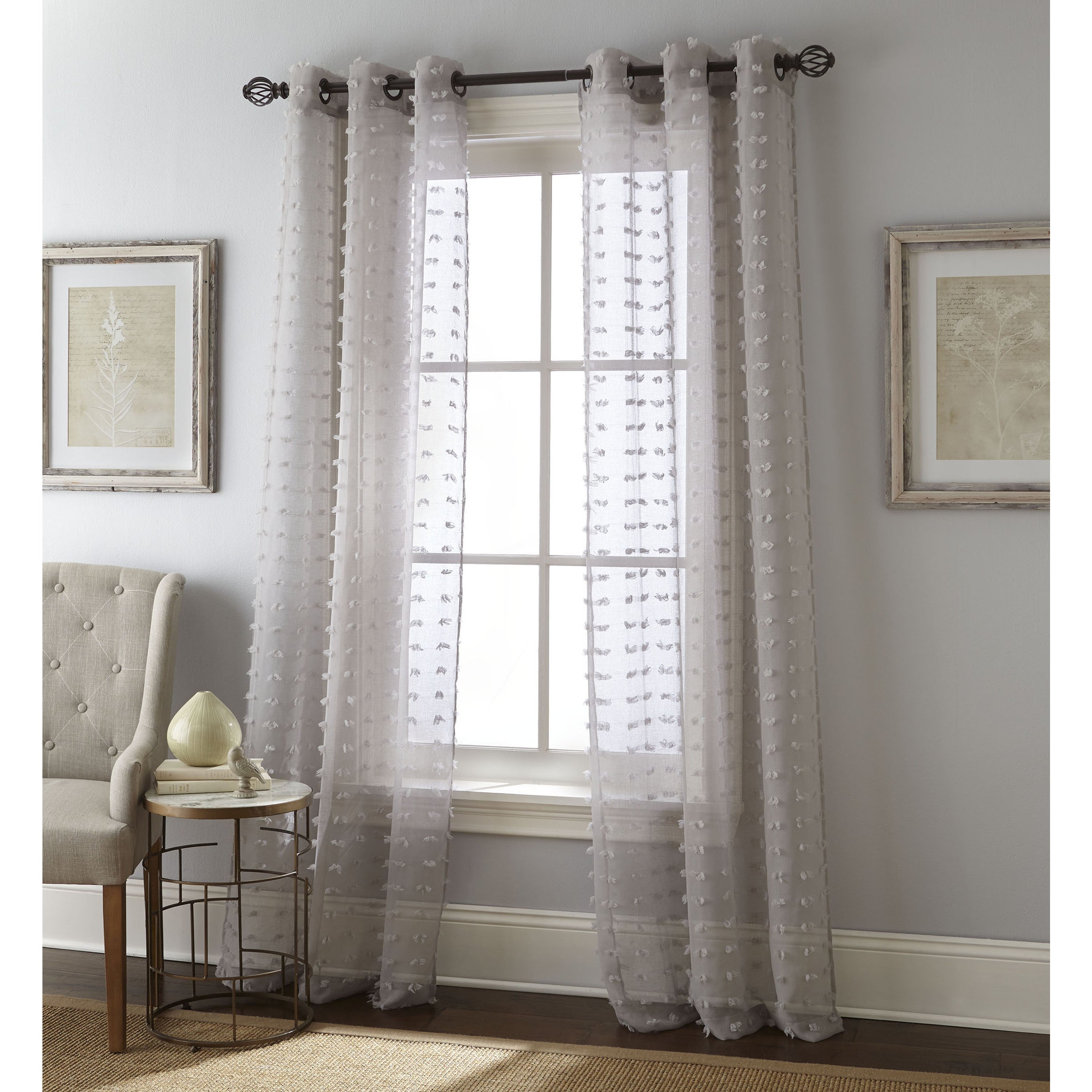 Nanshing Payton Solid Grommet Top Curtain Panel Pair In Solid Grommet Top Curtain Panel Pairs (View 3 of 30)
