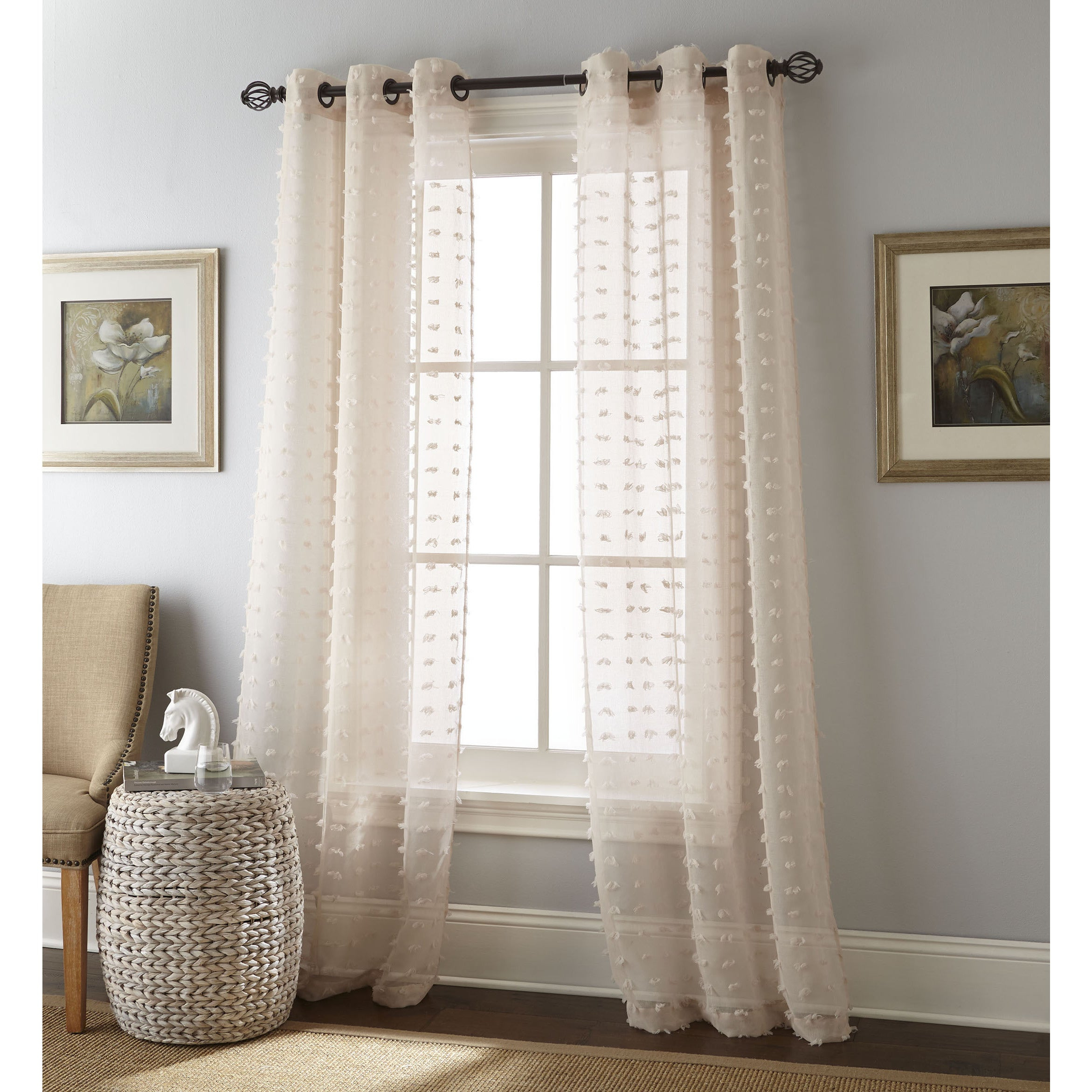 Featured Photo of Solid Grommet Top Curtain Panel Pairs