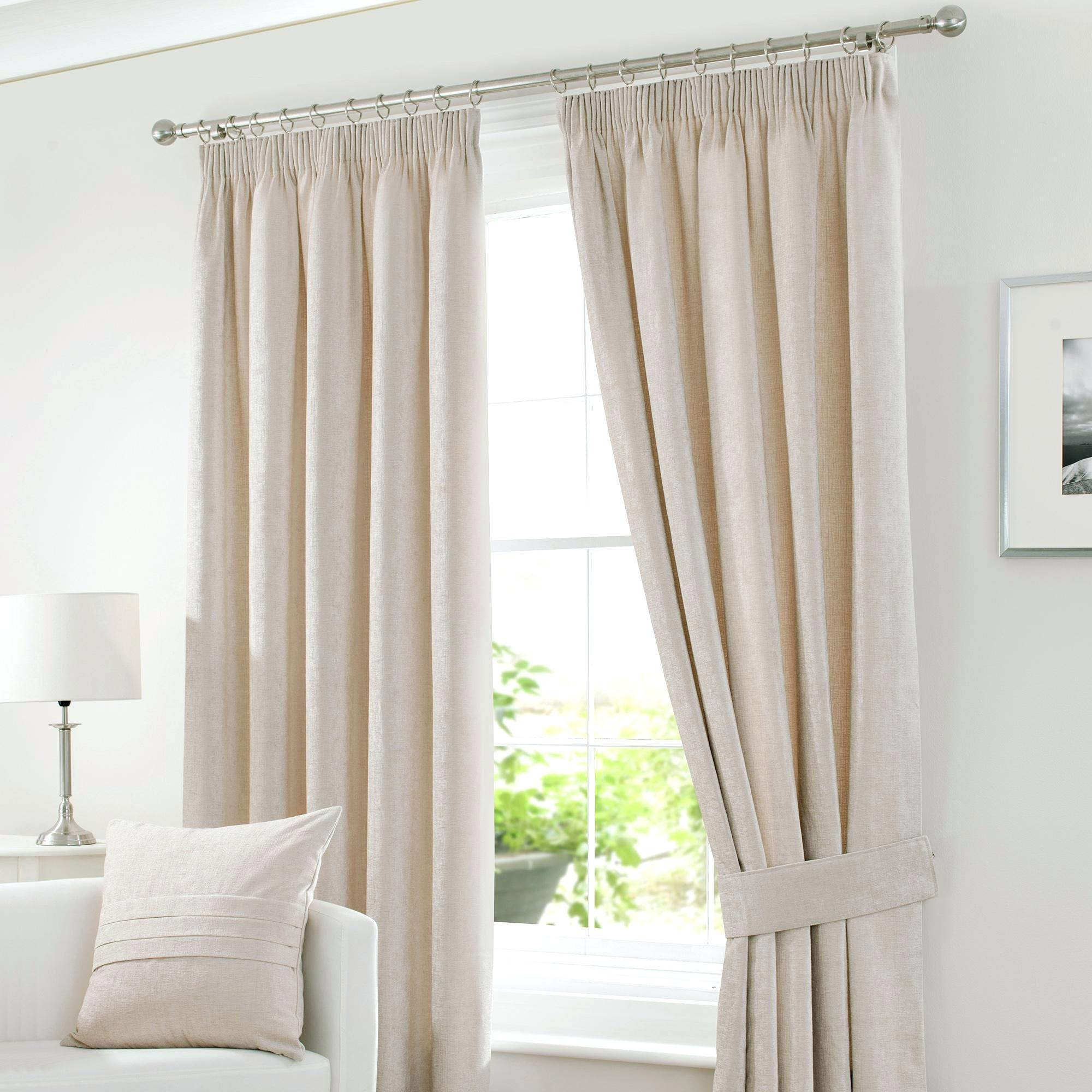 Off White Pinch Pleat Curtains Exclusive Fabrics Signature Pertaining To Signature Pinch Pleated Blackout Solid Velvet Curtain Panels (View 22 of 36)