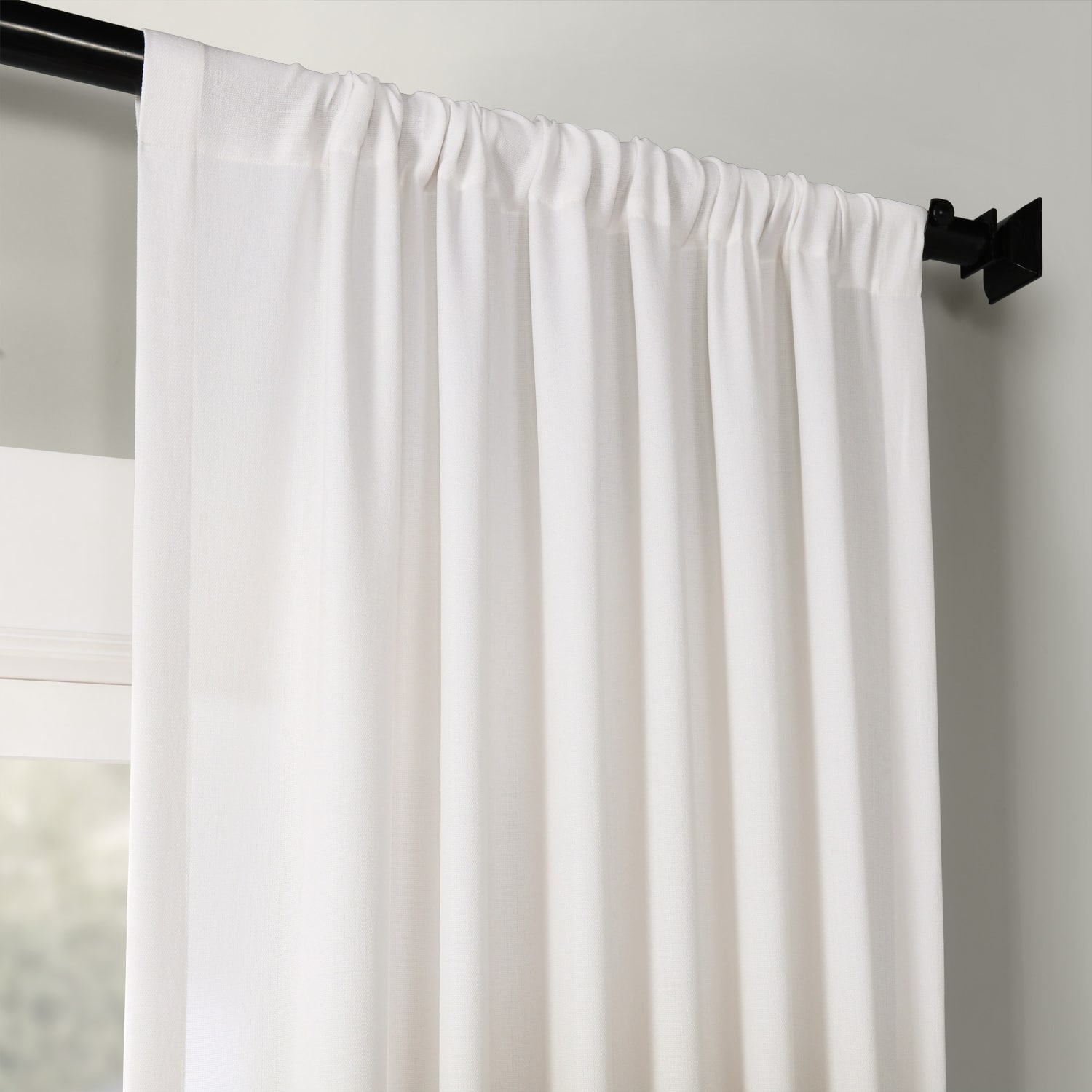 Ombre Plum Faux Linen Semi Sheer Curtain Intended For Ombre Faux Linen Semi Sheer Curtains (View 9 of 20)