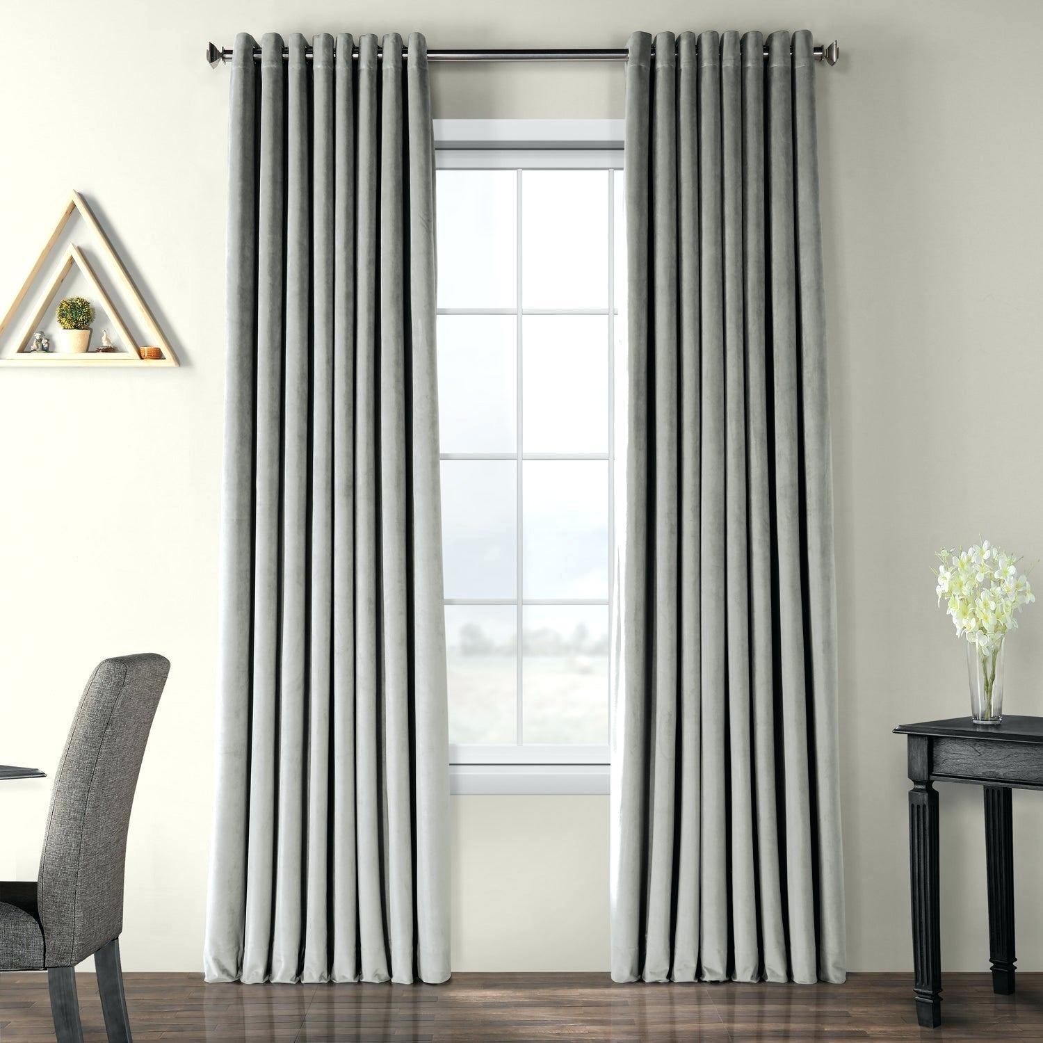 Overstock Blackout Curtains – Waterstewards With Solid Cotton True Blackout Curtain Panels (View 18 of 30)