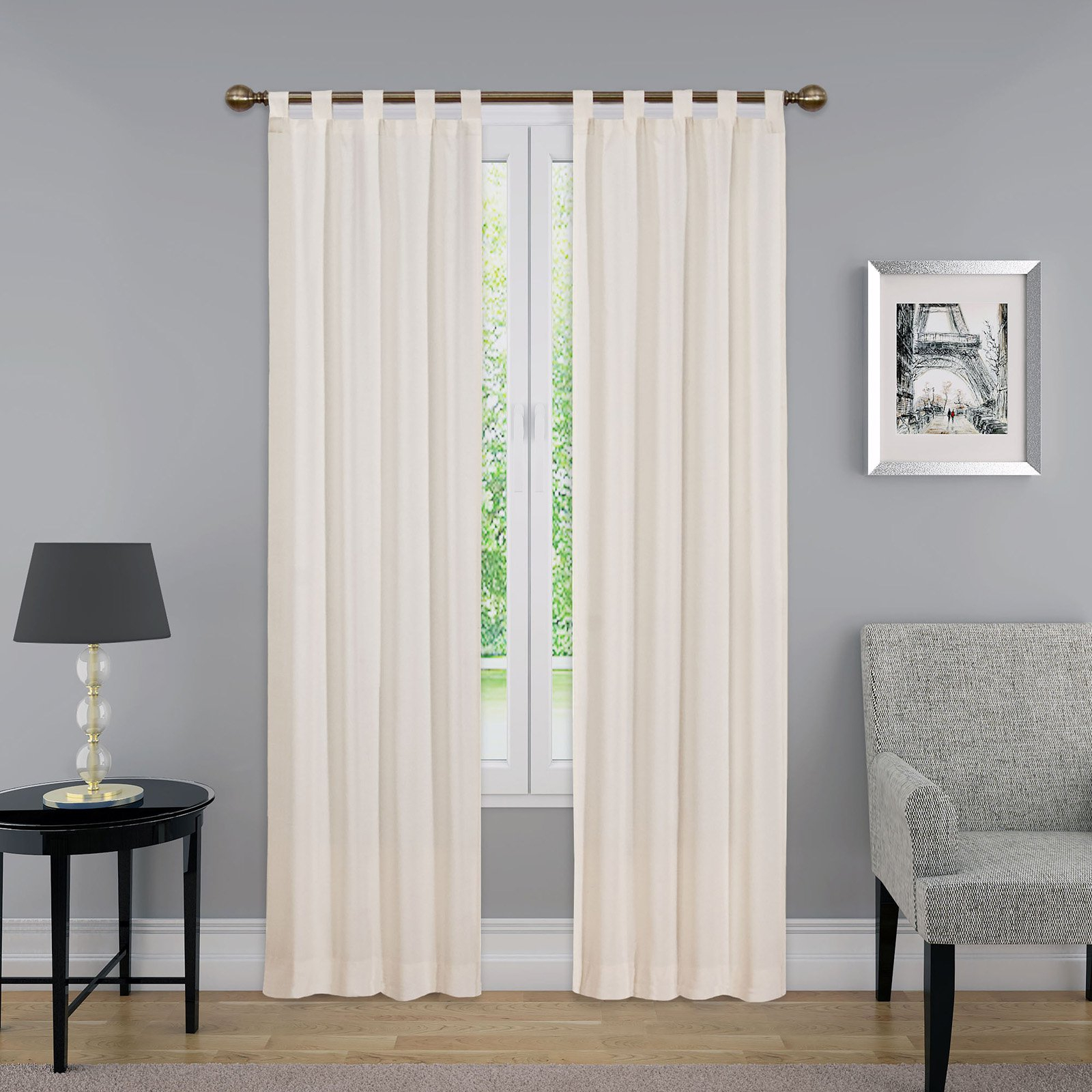 Pairs To Go Montana Curtain Panel Pair Grey In 2019 Inside Pairs To Go Victoria Voile Curtain Panel Pairs (View 16 of 20)