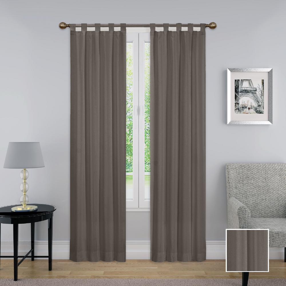 Pairs To Go Montana Window Curtain Panel Pair In Grey – 60 In. W X 84 In (View 14 of 20)