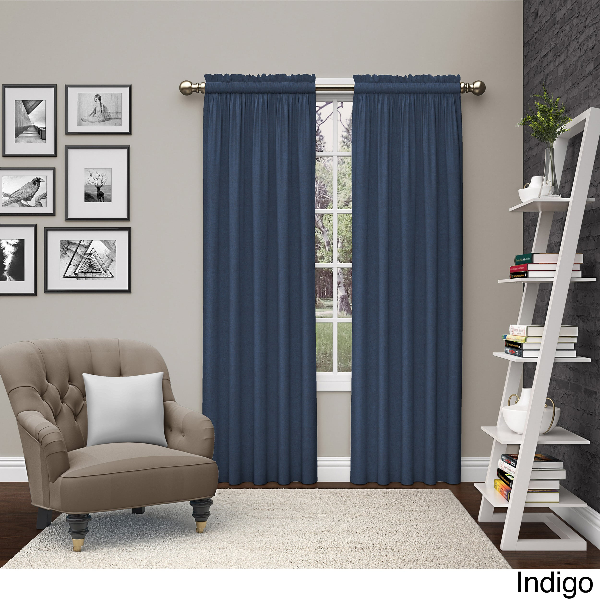 Pairs To Go Teller 2 Pack Window Curtain Panel Pairs Throughout Curtain Panel Pairs (View 3 of 20)
