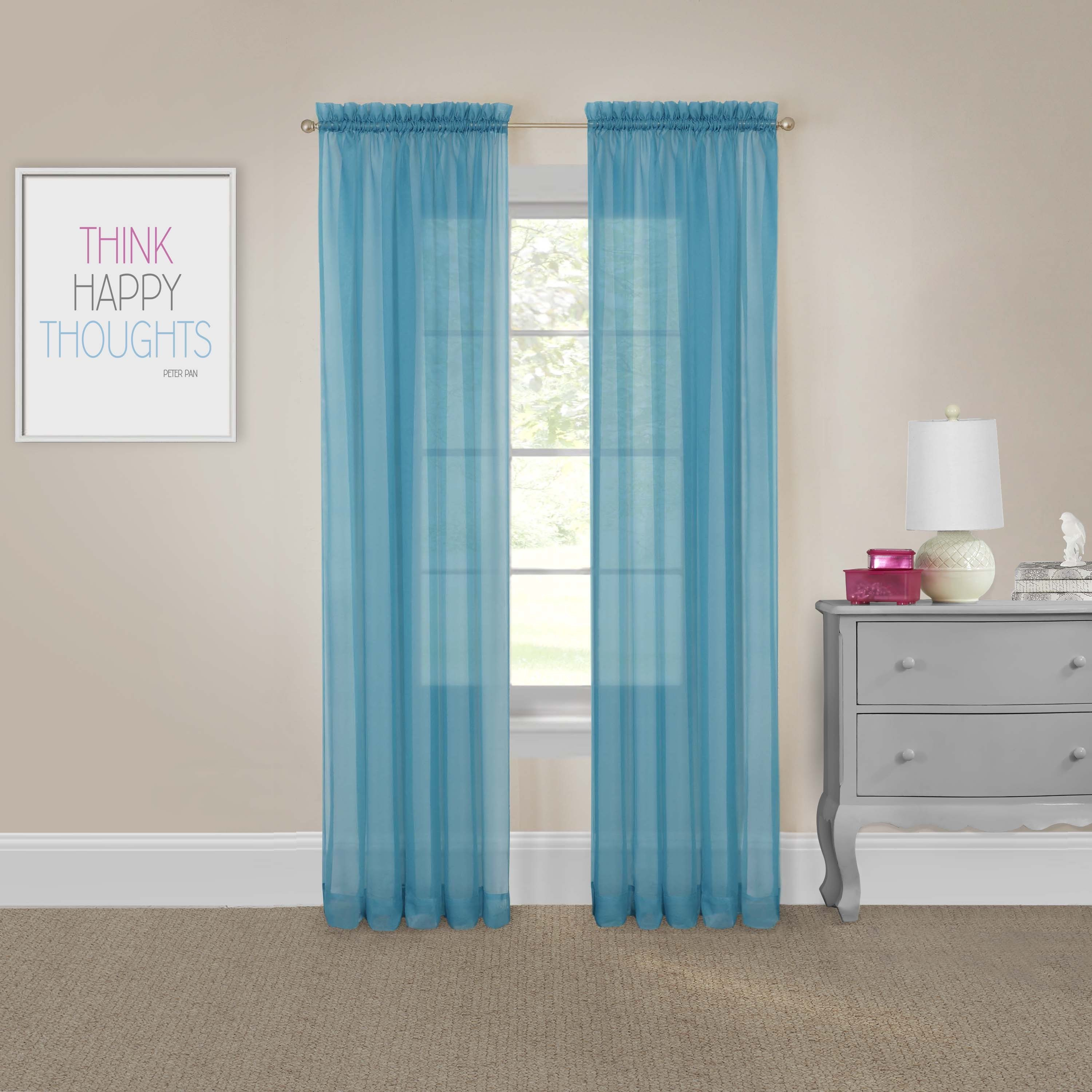 Pairs To Go Victoria Voile Curtain Panel Pair With Pairs To Go Victoria Voile Curtain Panel Pairs (View 3 of 20)