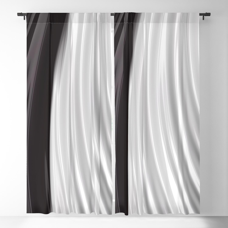 Piano Keys Blackout Curtainlindamillar Pertaining To Keyes Blackout Single Curtain Panels (View 5 of 20)