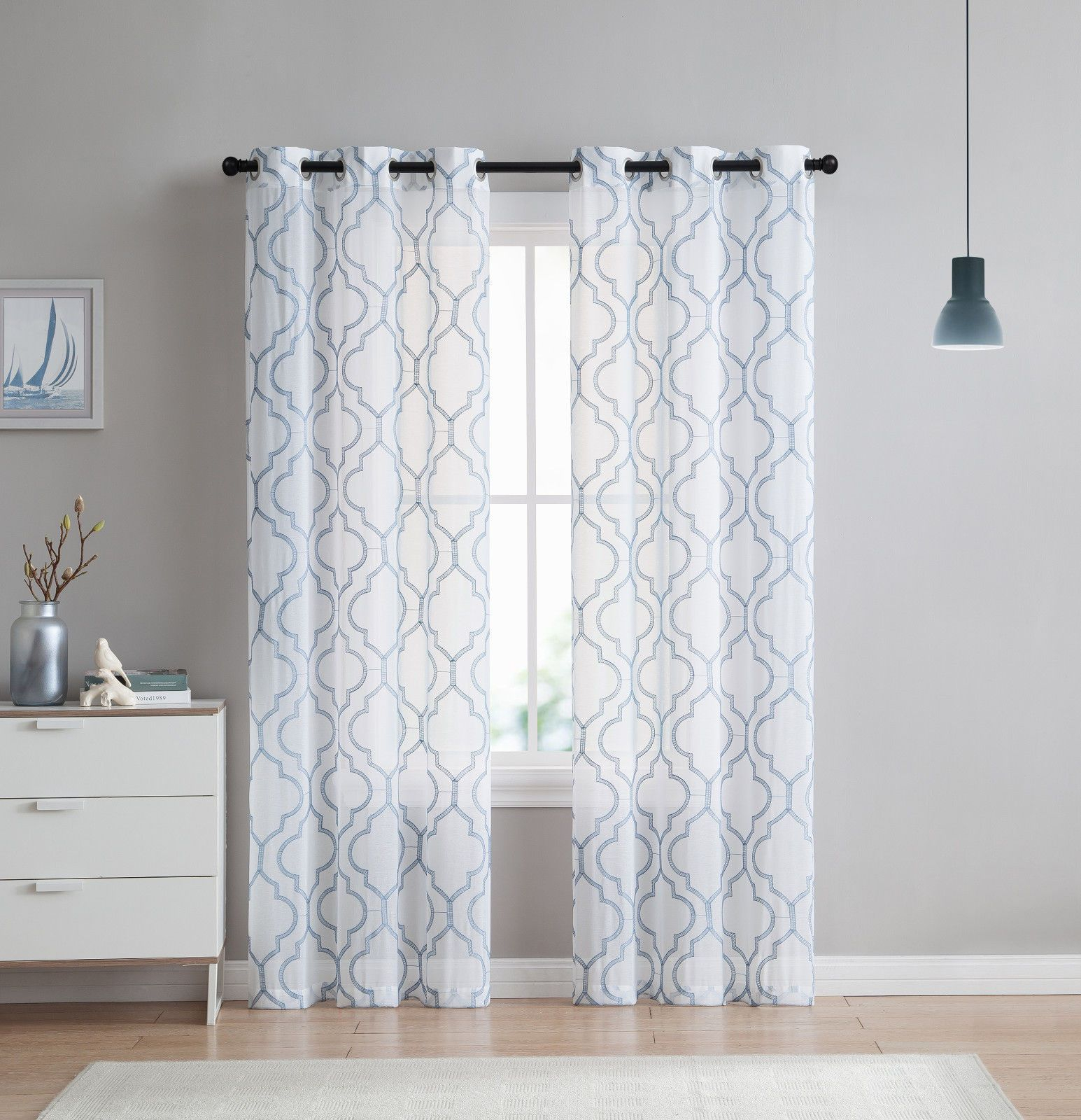 Pin On Home Decor Intended For Softline Trenton Grommet Top Curtain Panels (View 12 of 30)