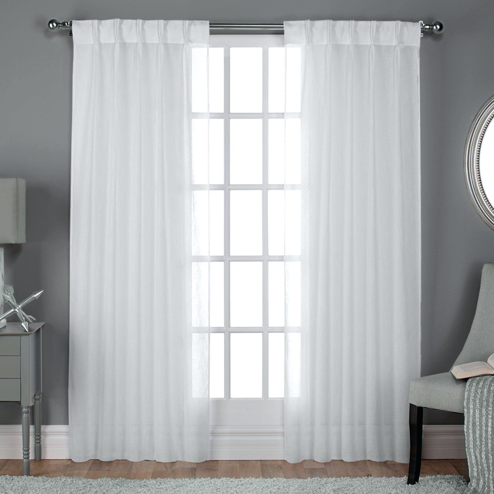 Pinch Pleat Drapes With Regard To Signature Pinch Pleated Blackout Solid Velvet Curtain Panels (View 27 of 36)