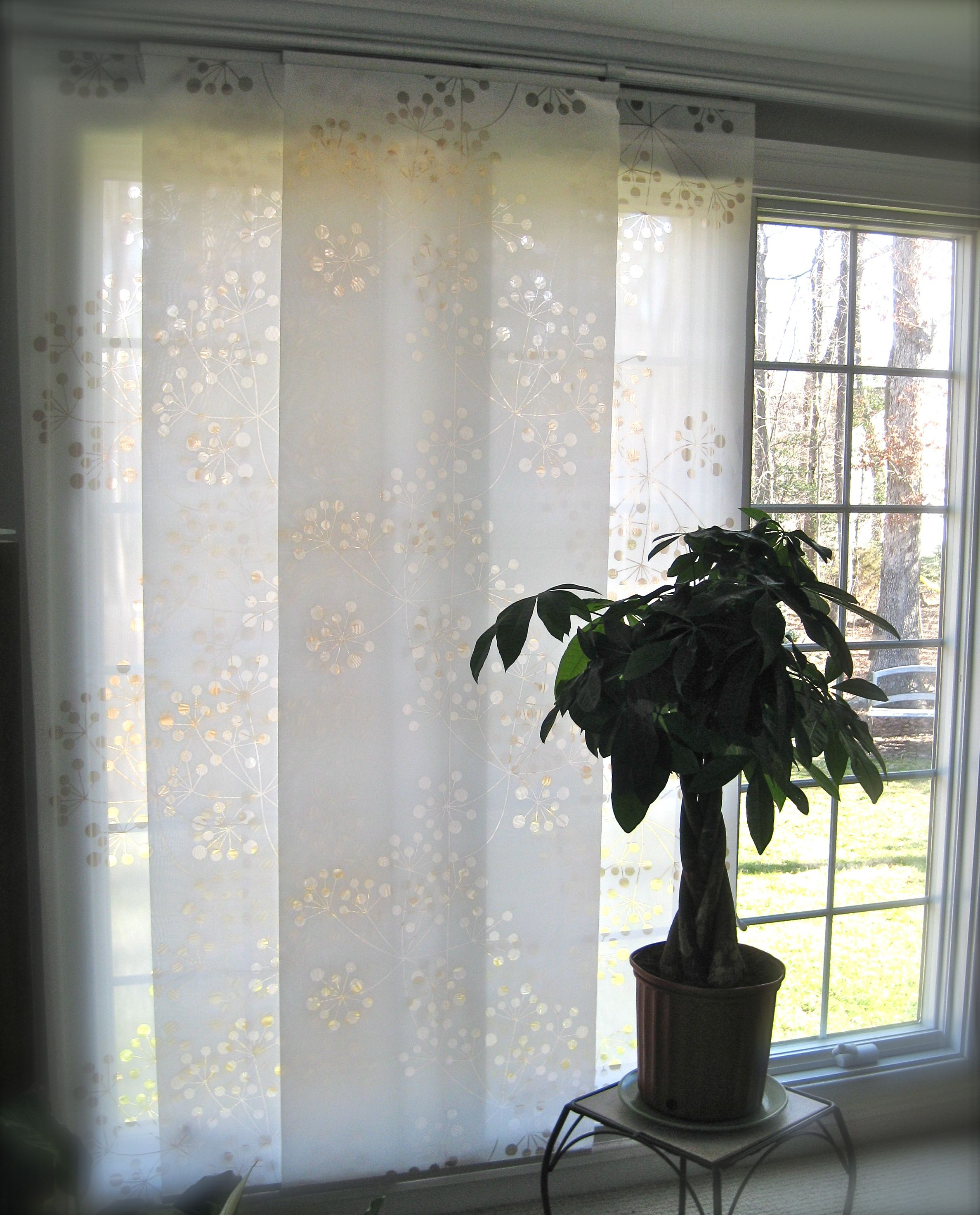 Pinkaren Altman On Clever And Inspiring | Curtains In Inez Patio Door Window Curtain Panels (View 8 of 20)