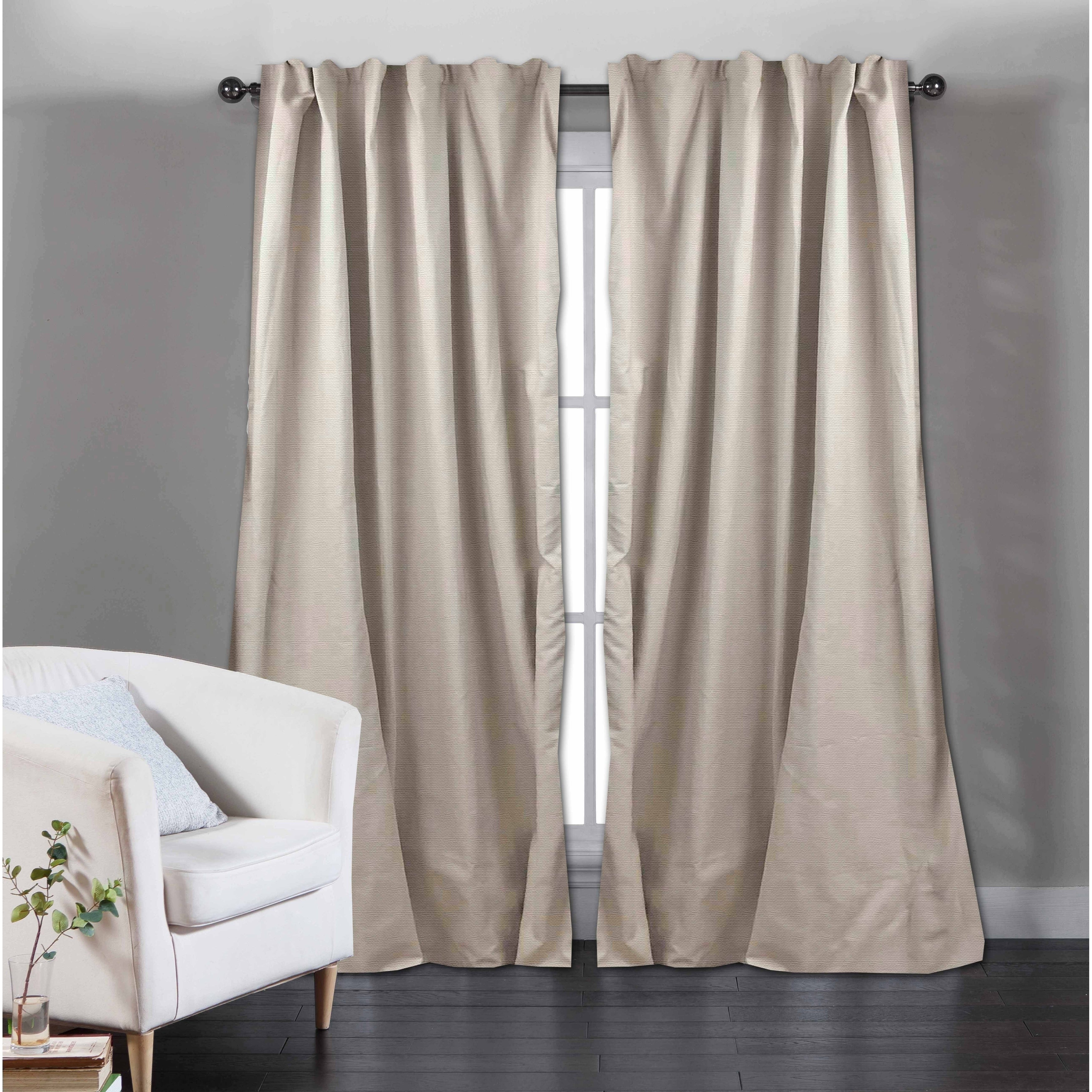 Popular Photo of Solid Cotton Curtain Panels