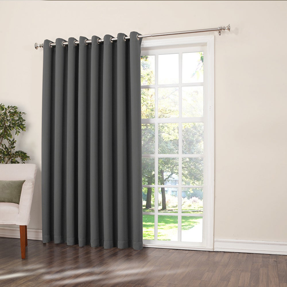 Featured Photo of Nantahala Rod Pocket Room Darkening Patio Door Single Curtain Panels