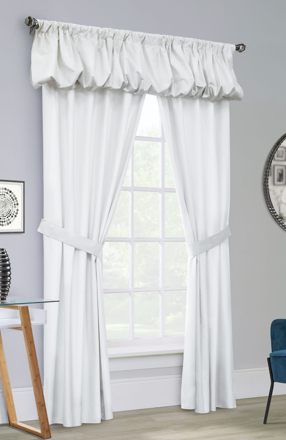 Prescott Insulated Pole Top Curtains, Thermal Curtain + Throughout Prescott Insulated Tie Up Window Shade (View 11 of 20)