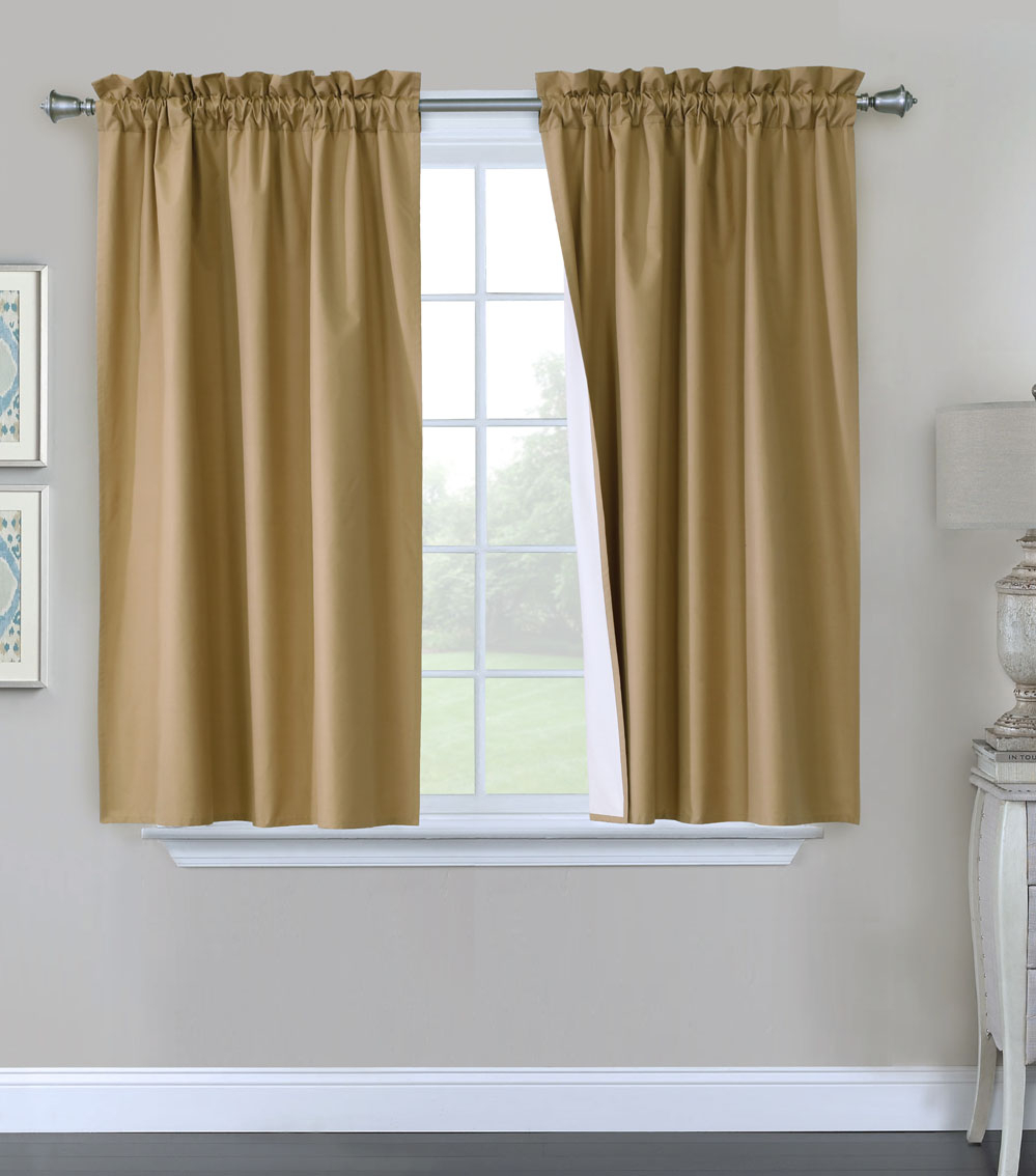 Prescott Insulated Pole Top Curtains, Thermal Curtains Throughout Prescott Insulated Tie Up Window Shade (View 8 of 20)