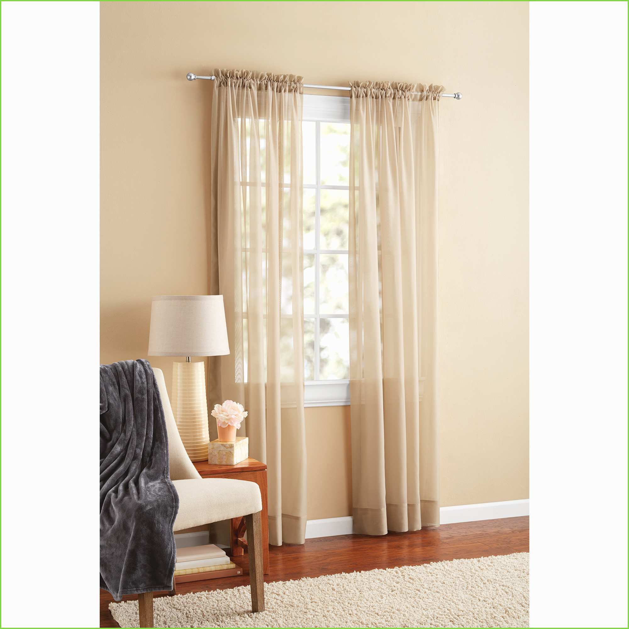 Pretty Ideas Of Walmart Sheer Curtains Panels | Starcash (View 18 of 20)