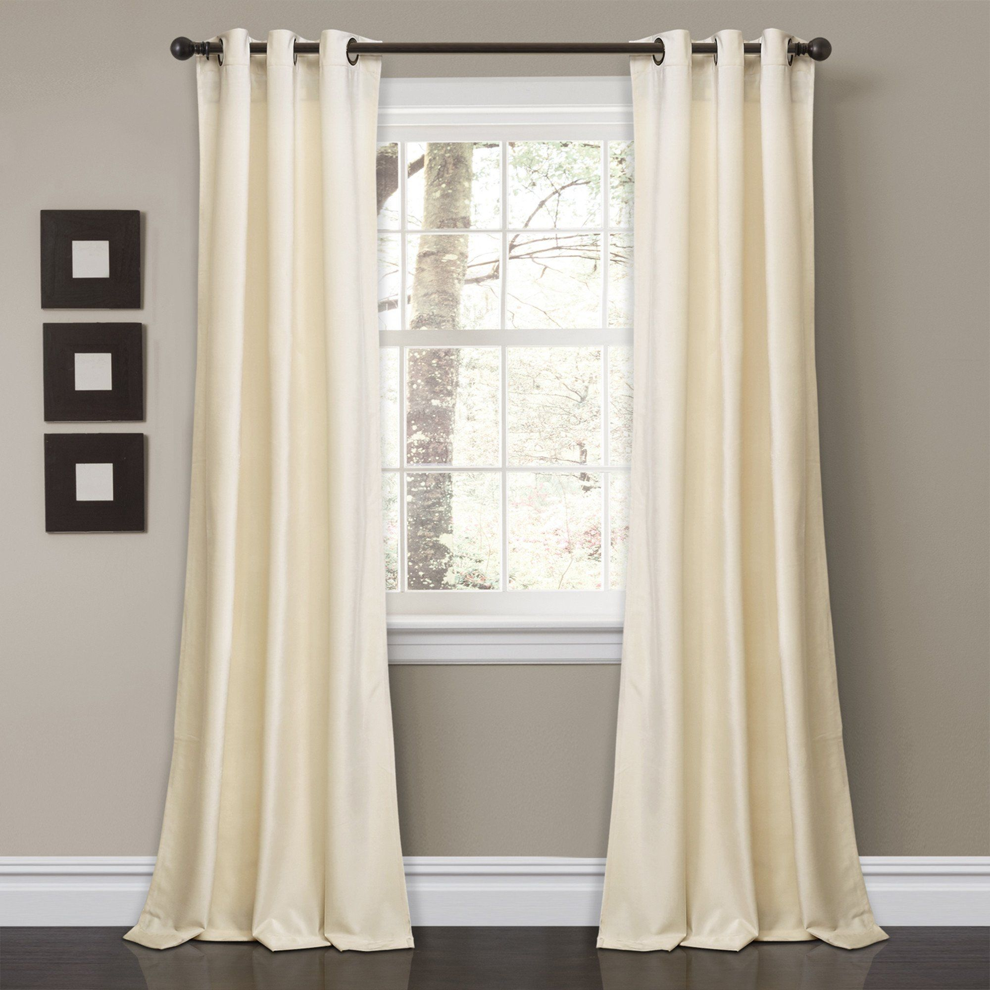 Prima Velvet Solid Room Darkening Window Curtain Panel Set Within Velvet Solid Room Darkening Window Curtain Panel Sets (View 2 of 30)
