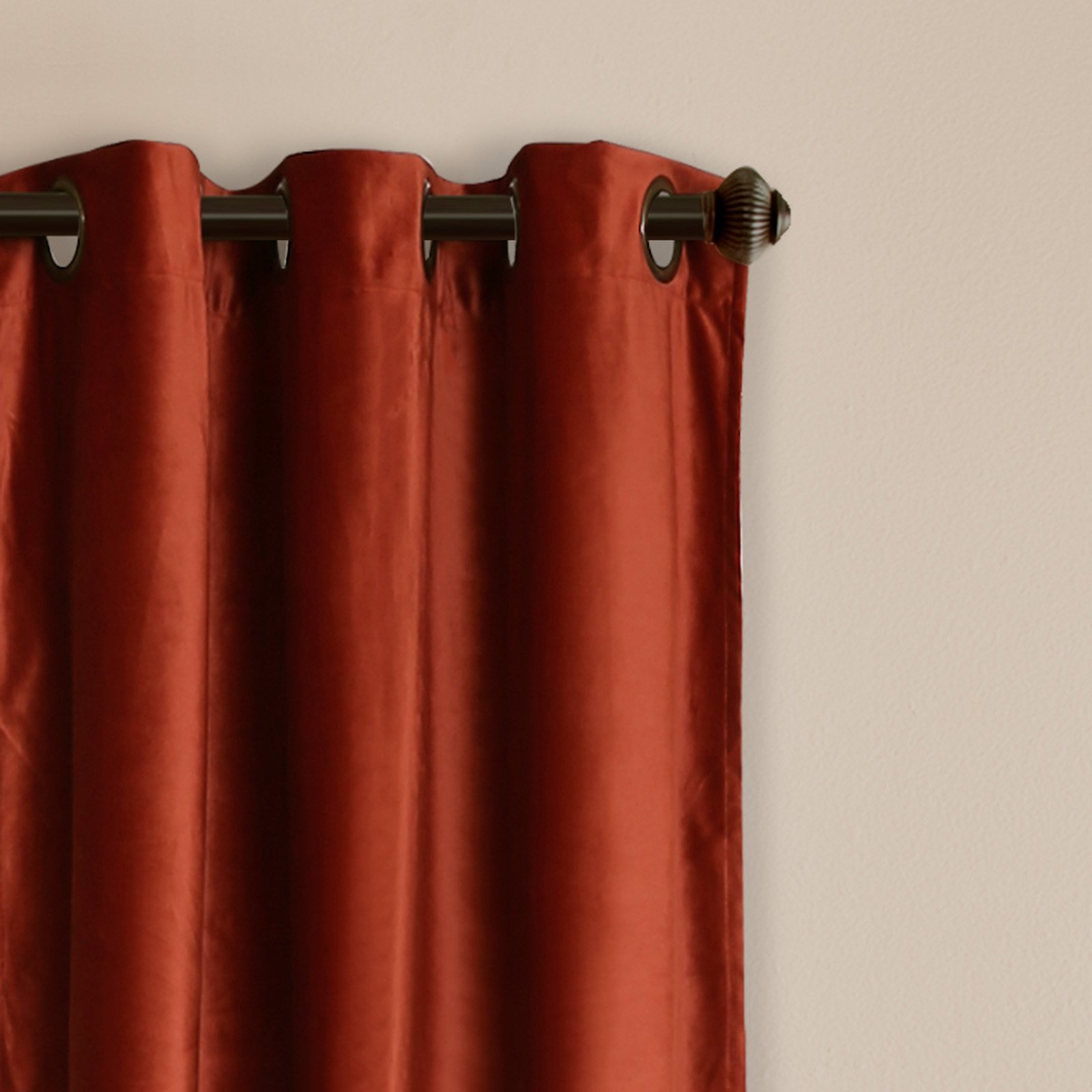 Prima Velvet Solid Room Darkening Window Curtain Set For Velvet Solid Room Darkening Window Curtain Panel Sets (View 5 of 30)