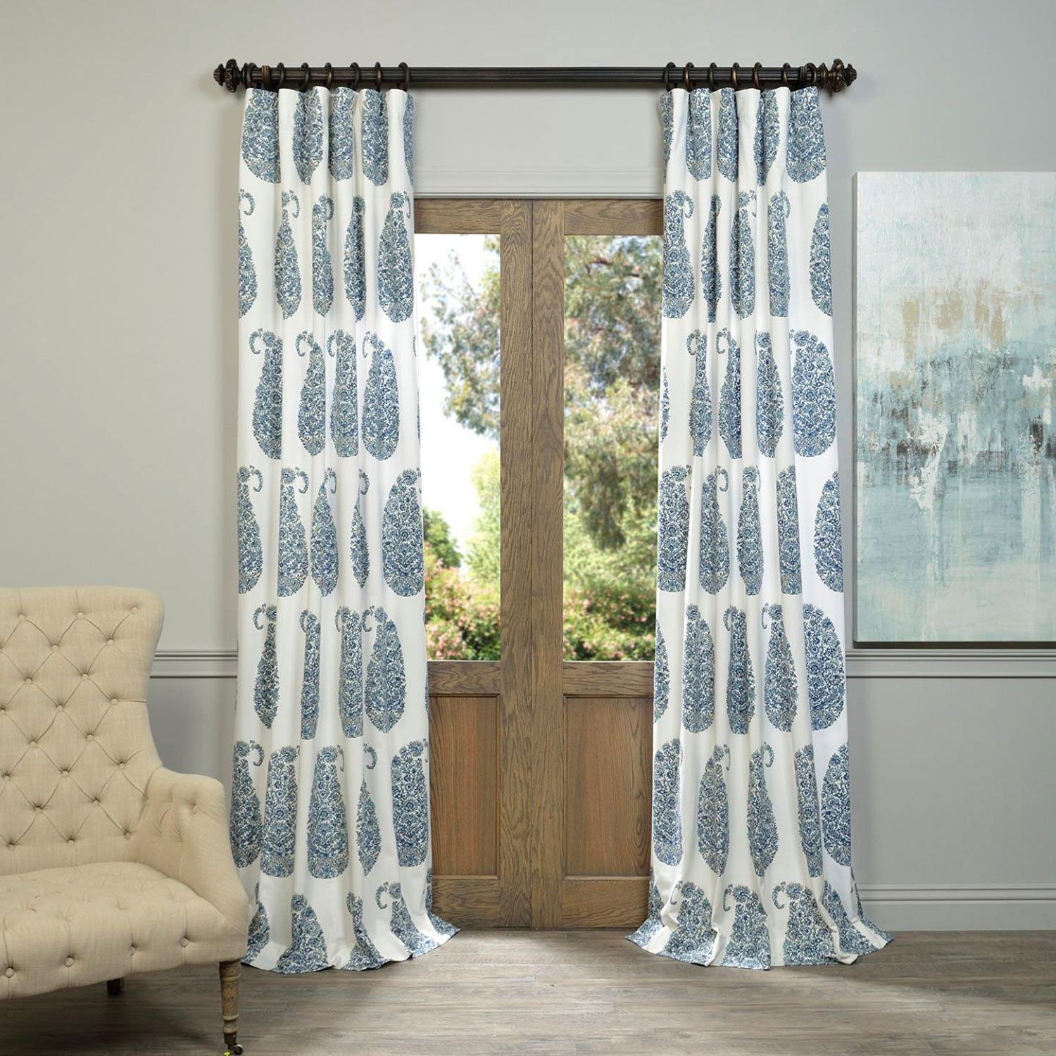 Prtw – Popular Pinterest Pertaining To Sarong Grey Printed Cotton Pole Pocket Single Curtain Panels (View 16 of 20)