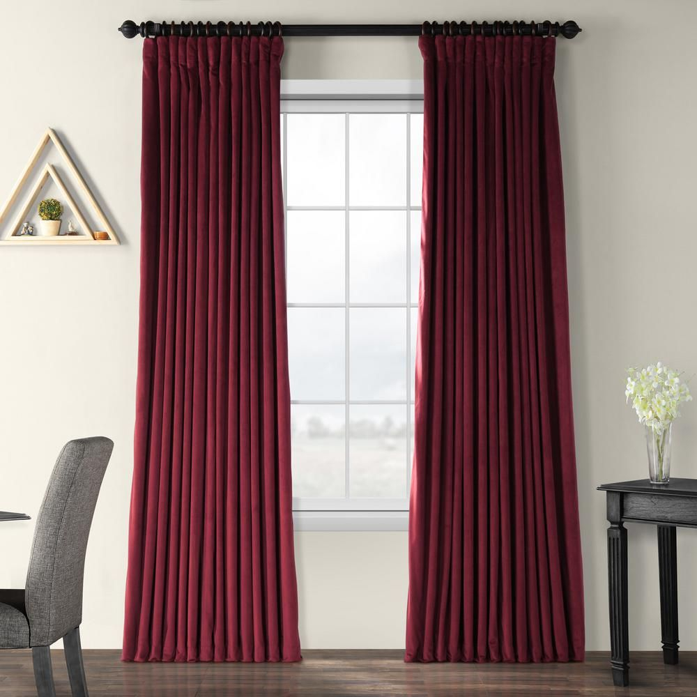 Rhinehart Solid Max Blackout Thermal Tab Top Single Curtain Intended For Evelina Faux Dupioni Silk Extreme Blackout Back Tab Curtain Panels (View 15 of 20)